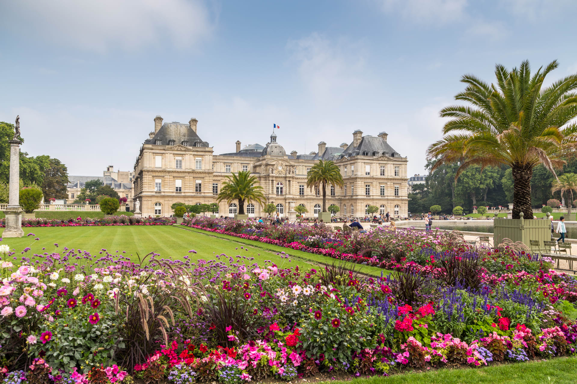 Paris - The Most Beautiful Gardens of Paris: the Luxembourg Gardens