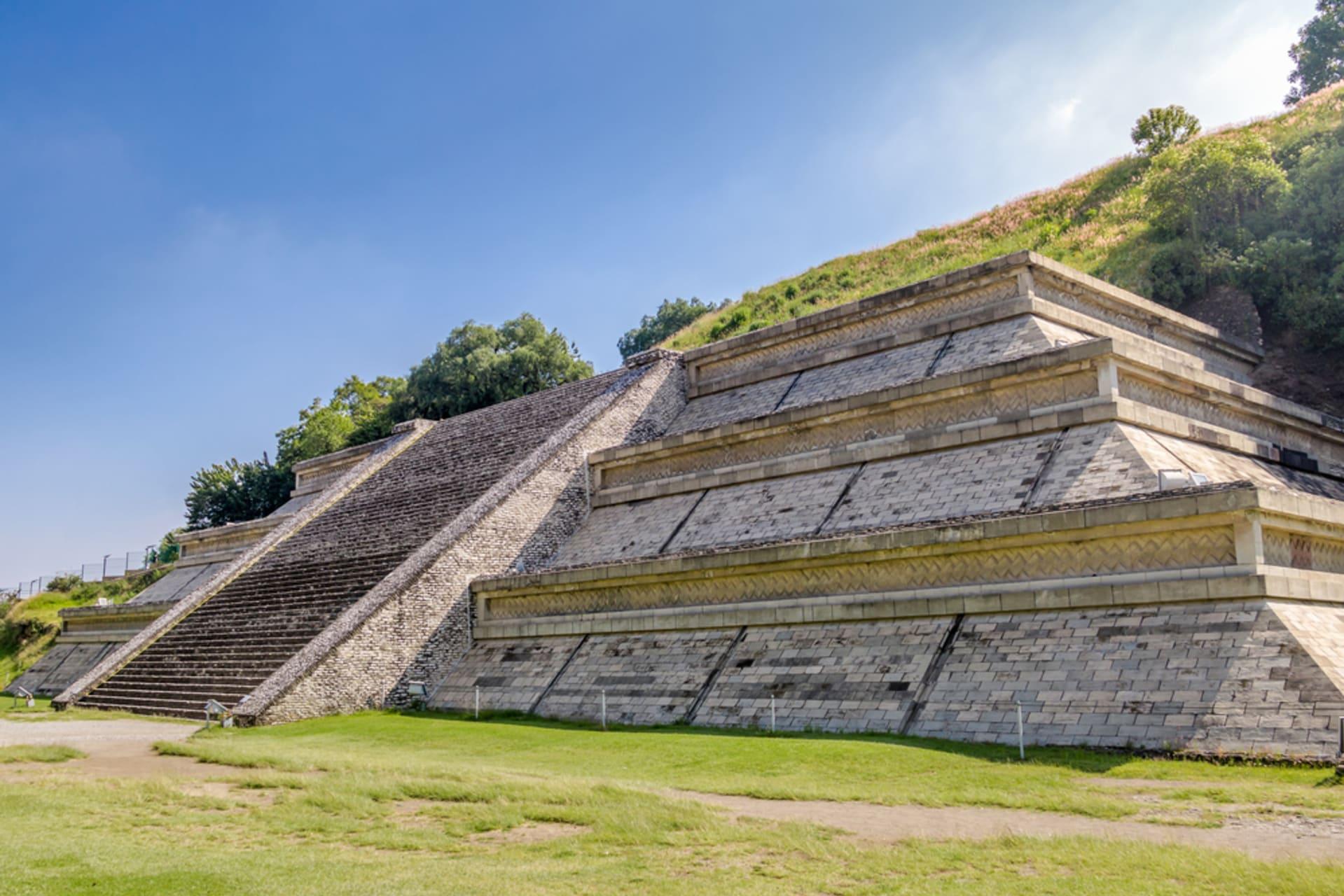 Puebla - The Pyramid of Cholula