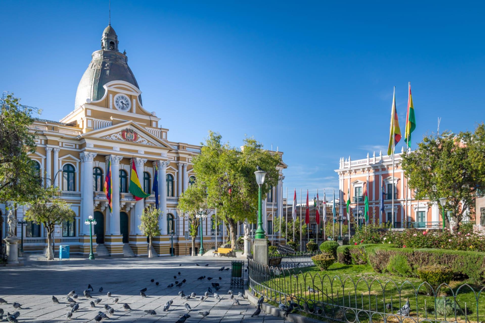 La Paz - The Historical Centre of Bolivia & Plaza Murillo