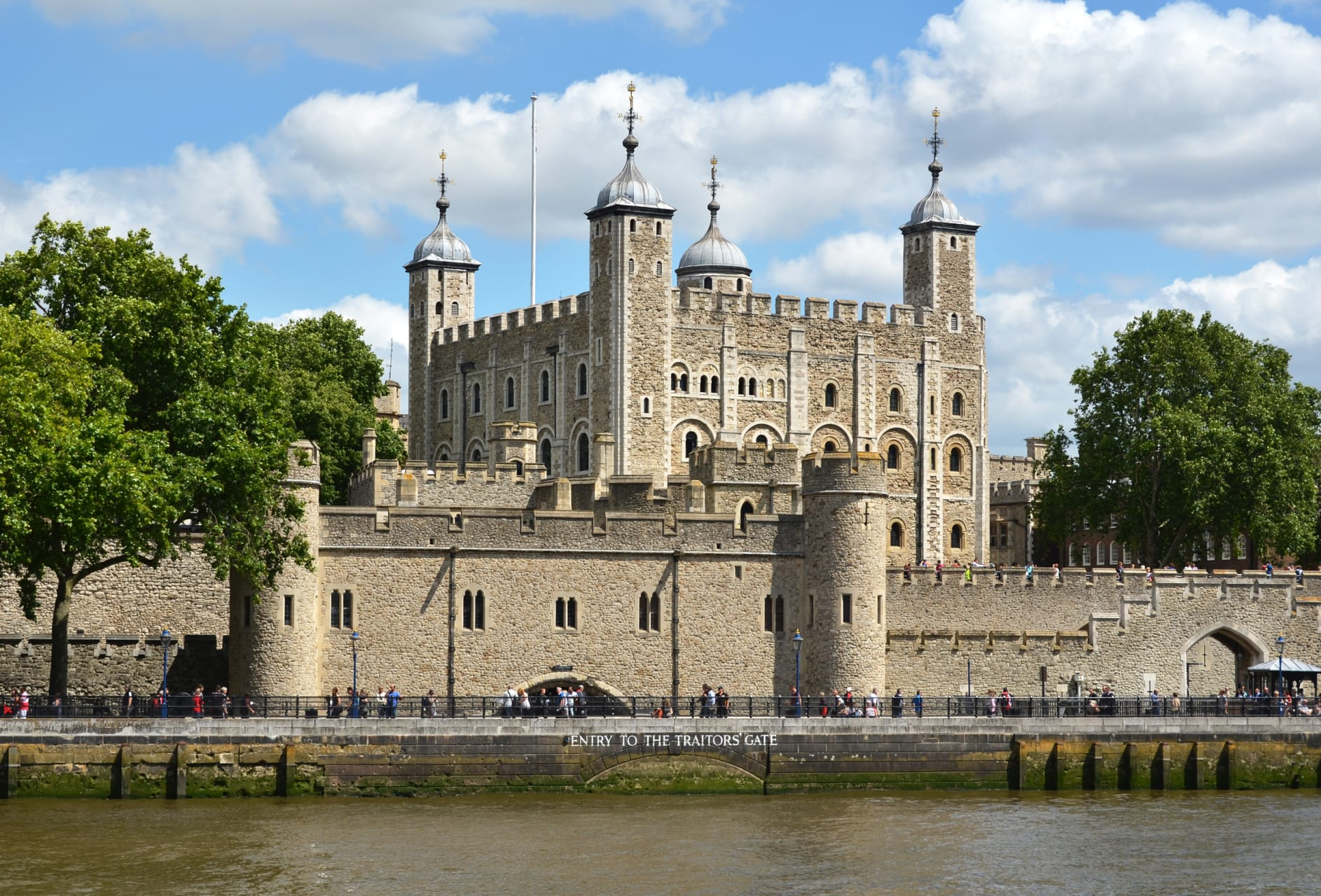 London - The Tower of London and Tower Hill