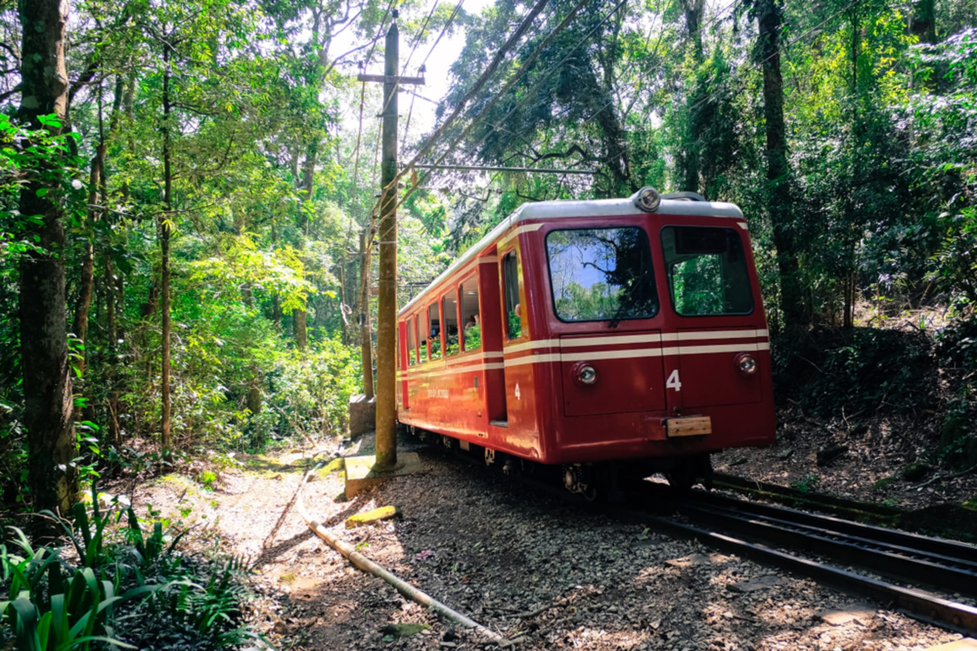 Rio de Janeiro - Christ Redeemer - Part 1 -Train of Corcovado