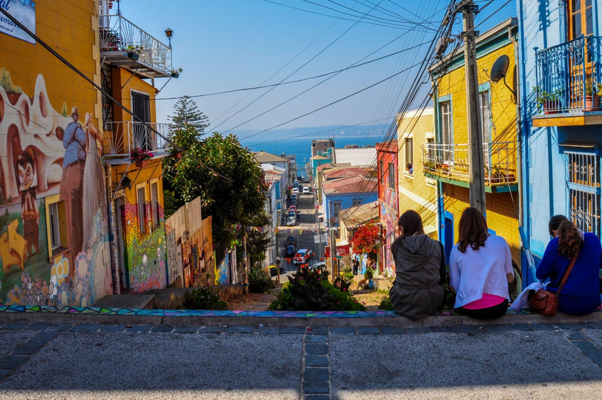 Valparaiso - Valparaíso, the Jewel of Pacific