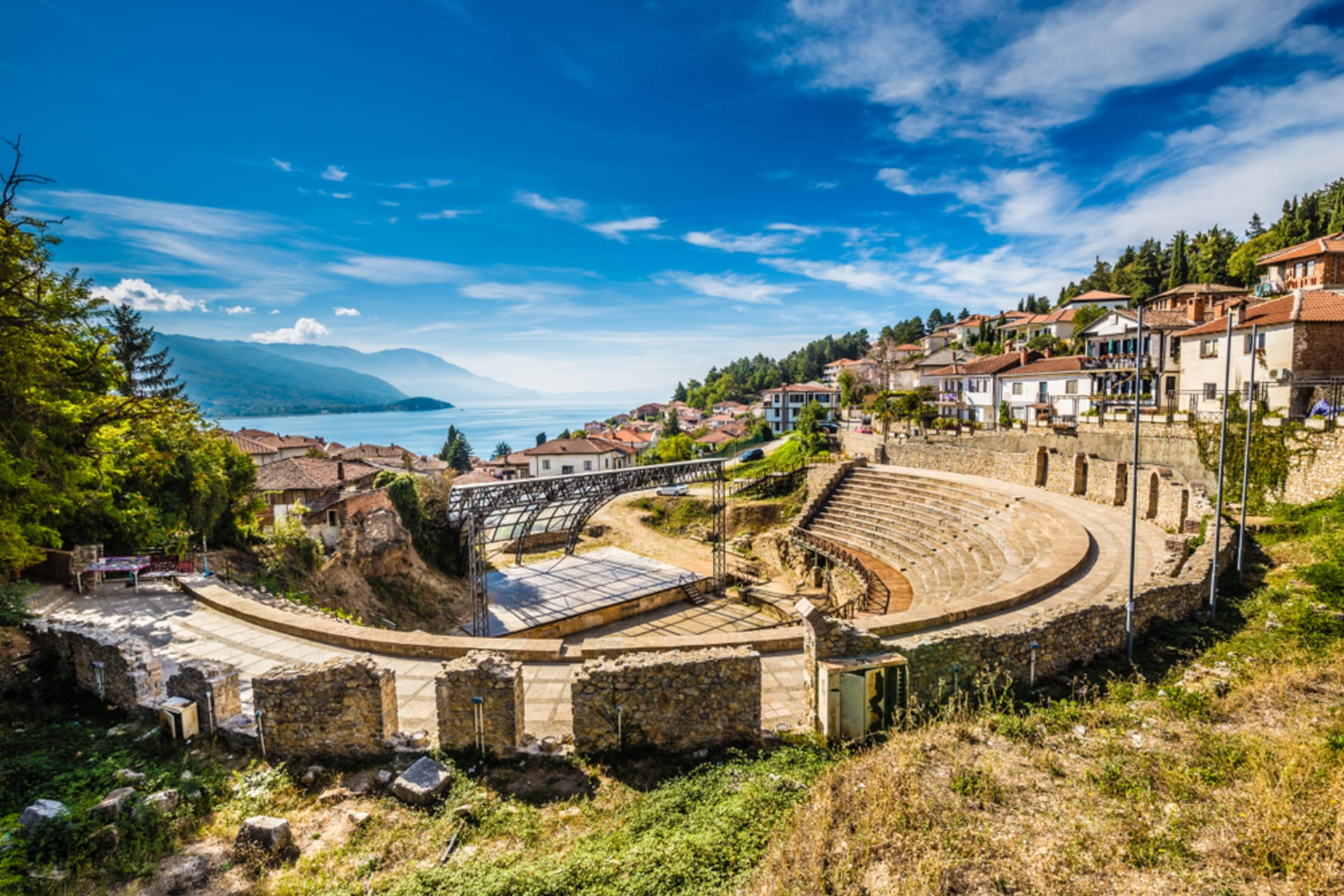 Ohrid - Ohrid, the City of UNESCO: a Place Where History and Nature Combine
