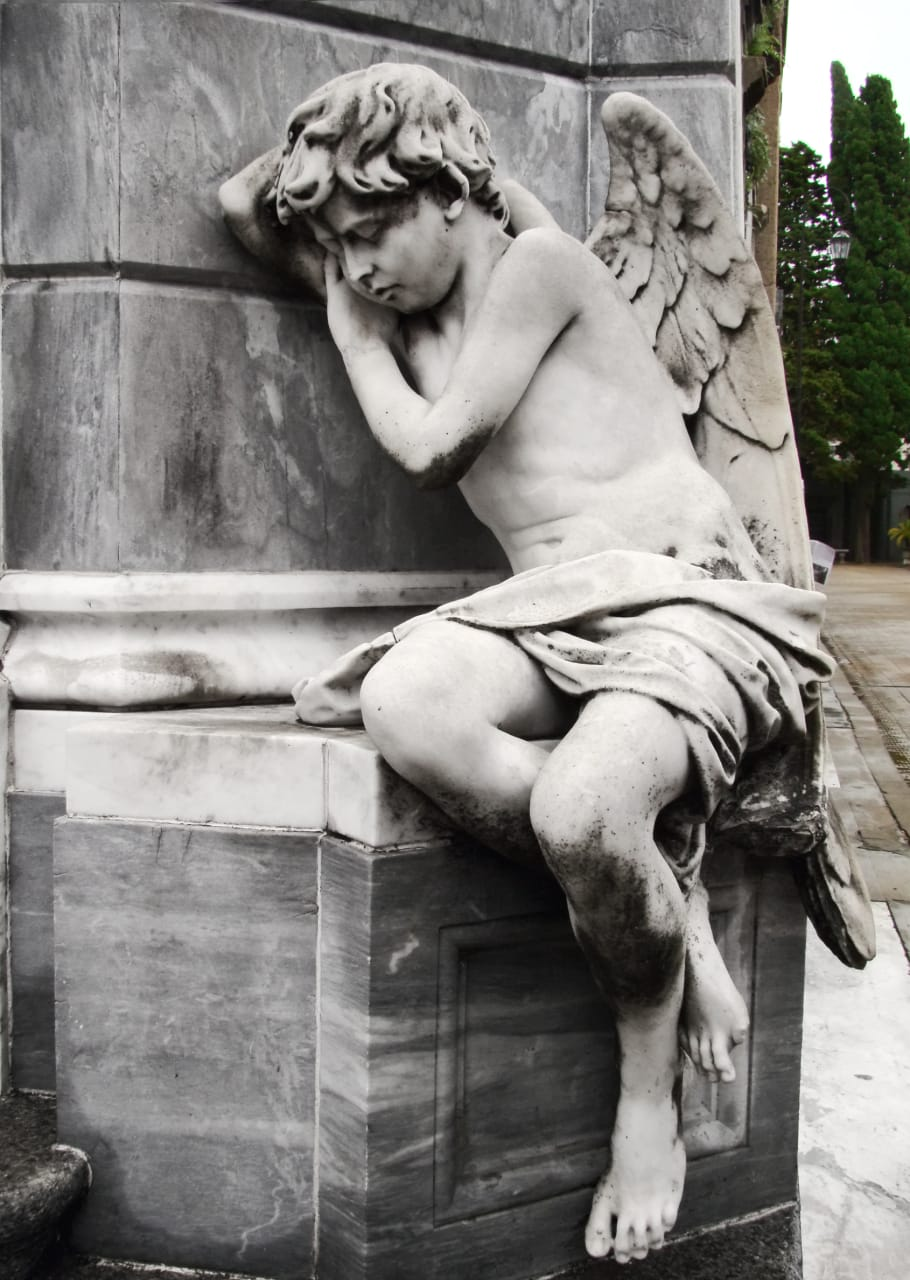 """Buenos Aires - Recoleta Cemetery: A """"City"""" of Angels in Buenos Aires."""