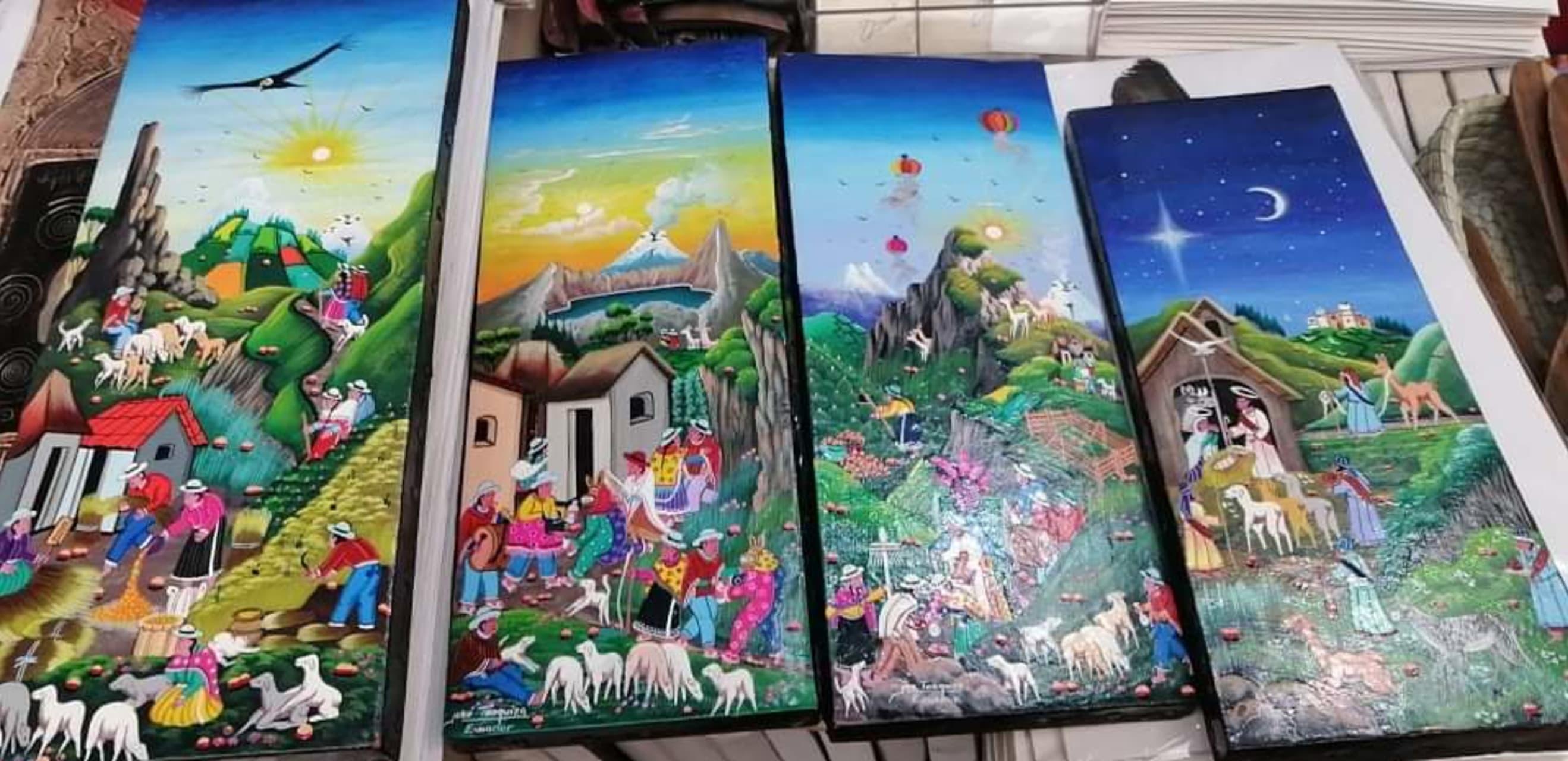 "Quito - Learn ""Naif Art"" from Ecuador with a Native Artist"