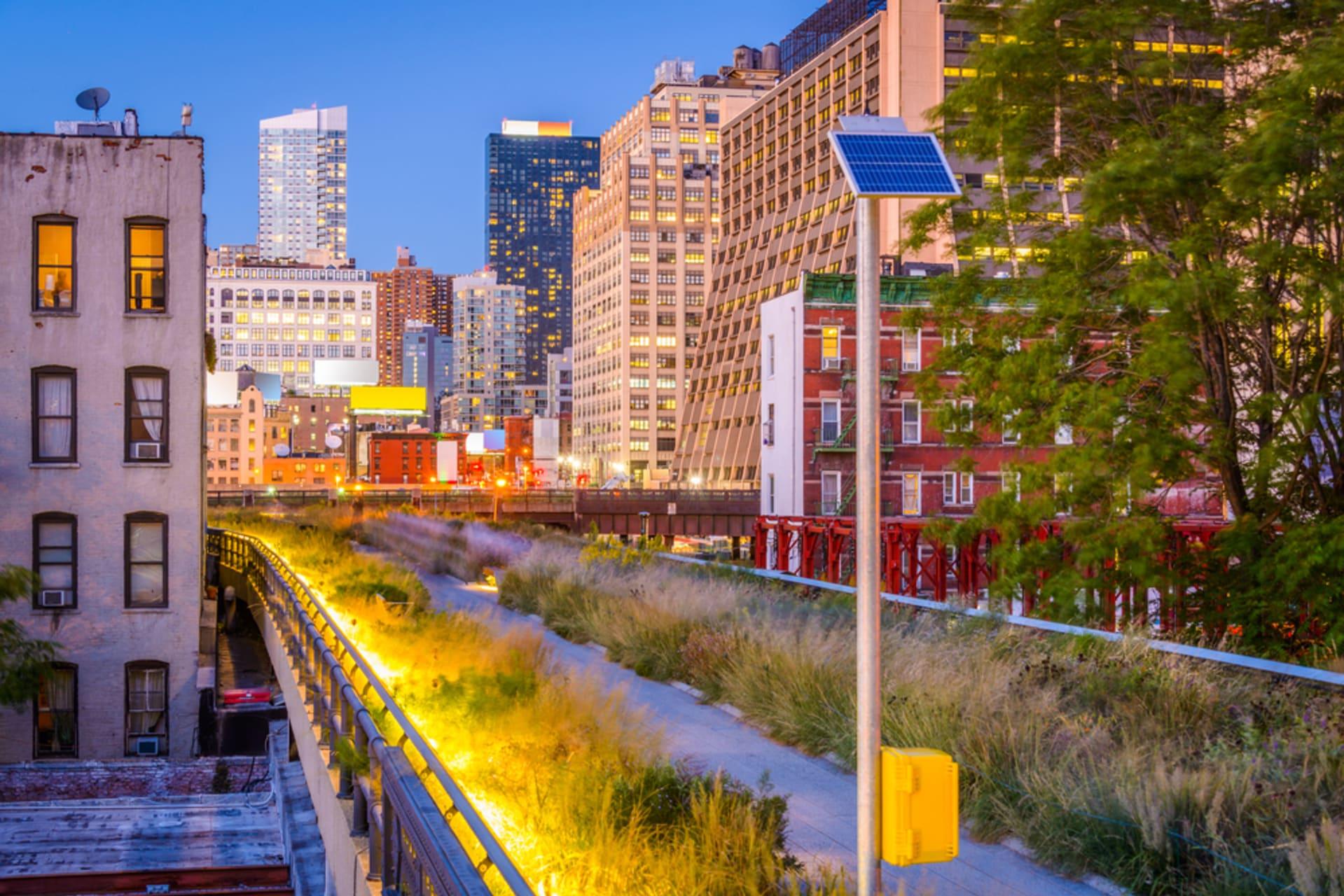 New York - The High Line & Hudson Yards