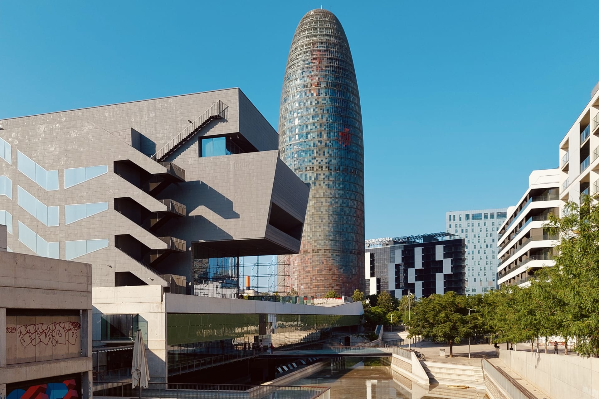 Barcelona - Barcelona Poblenou District: Tradition and Innovation