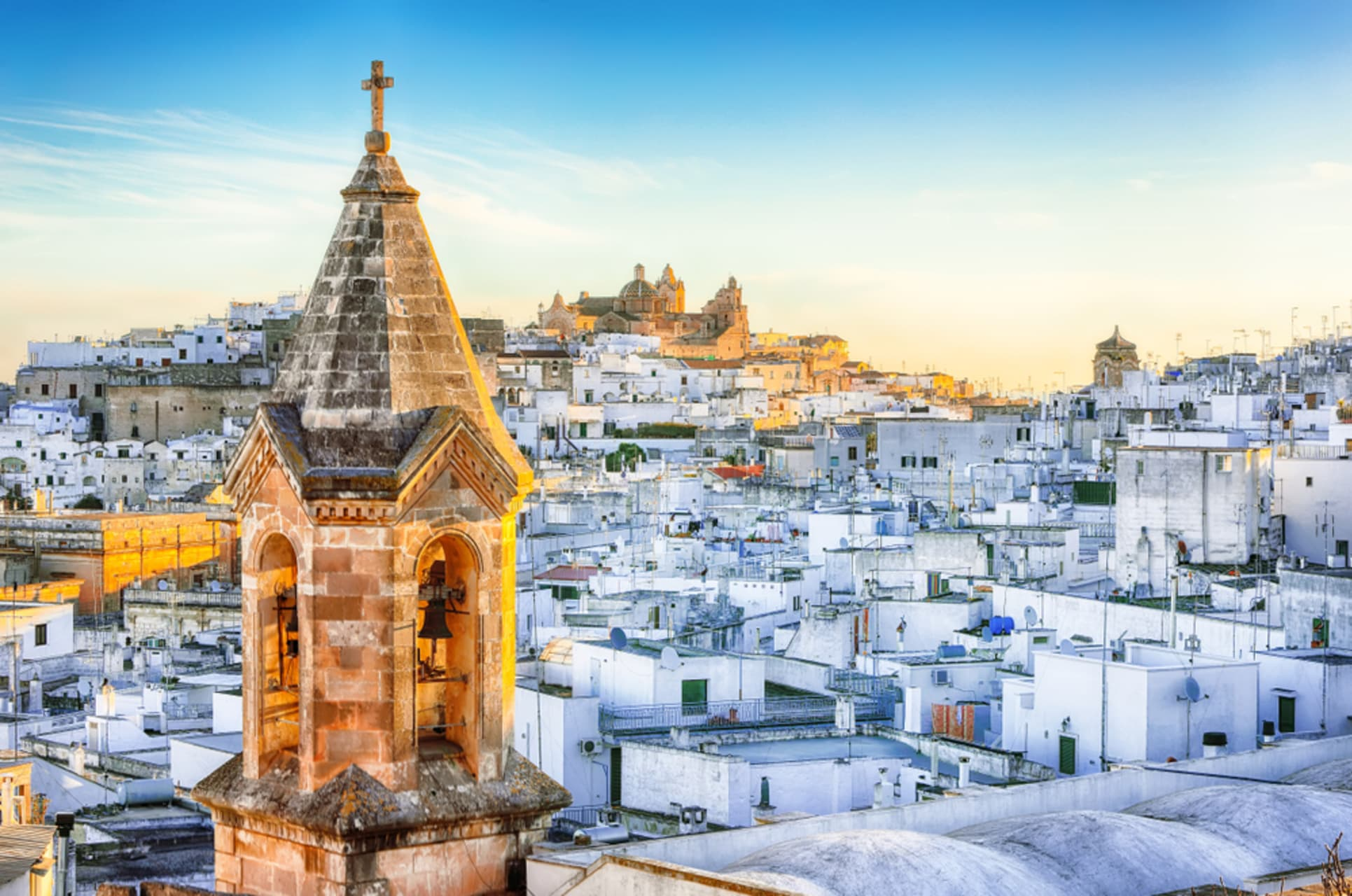 Puglia - The white town of Ostuni and its ancient past