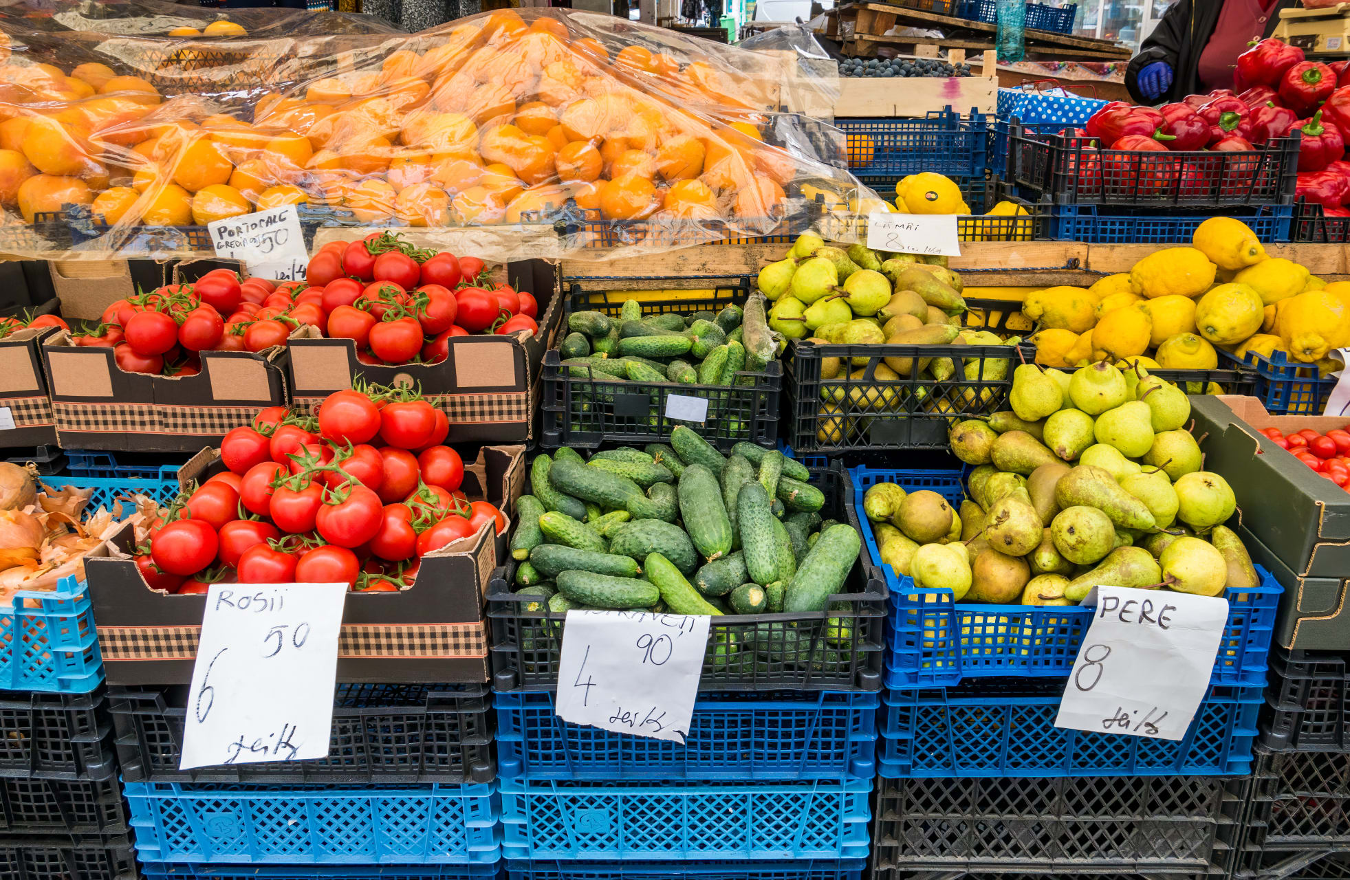 Bucharest - Obor - the Colourful Market of the Capital