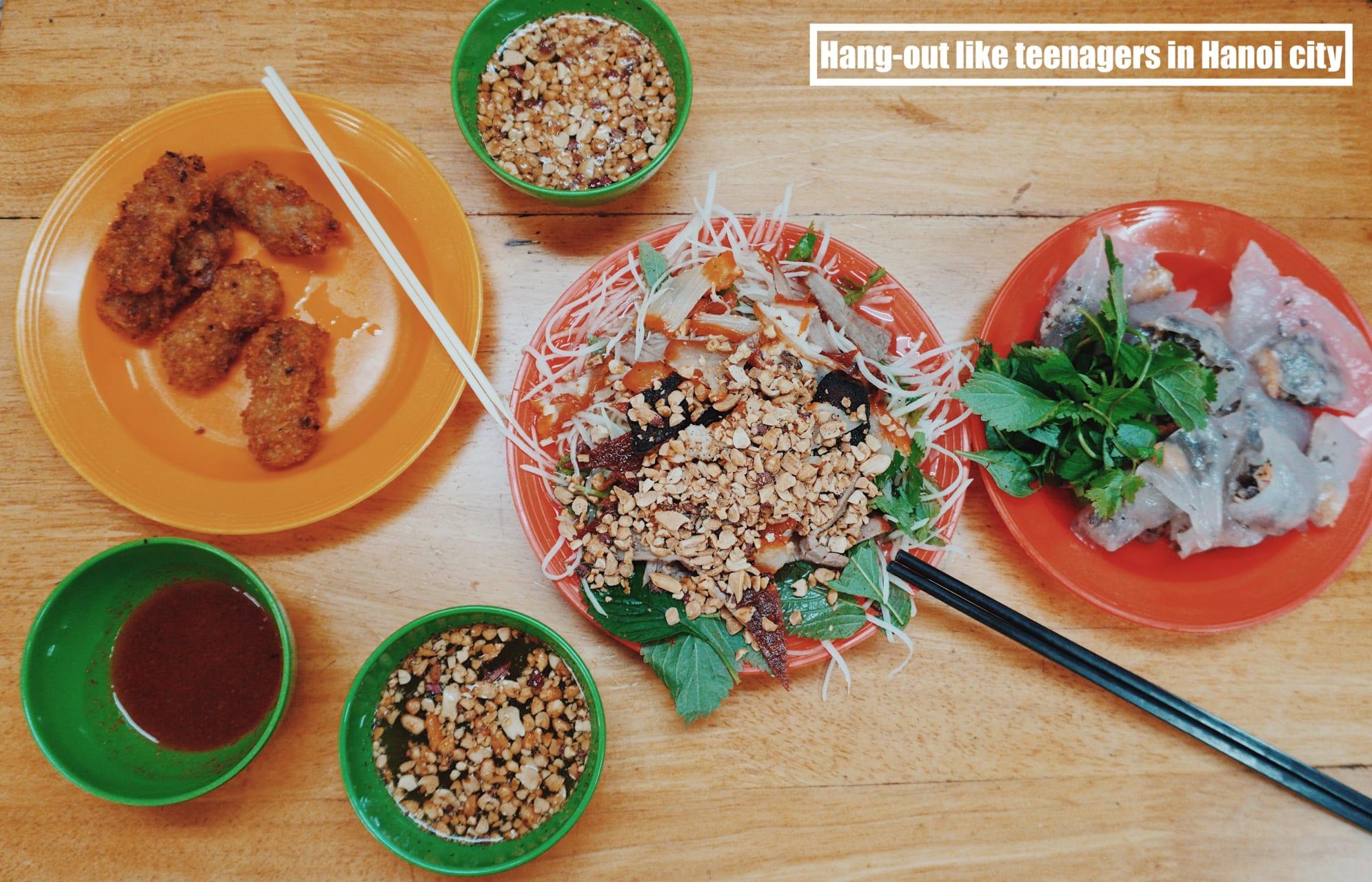 Hanoi - Hang-out like Teenager in Hanoi city