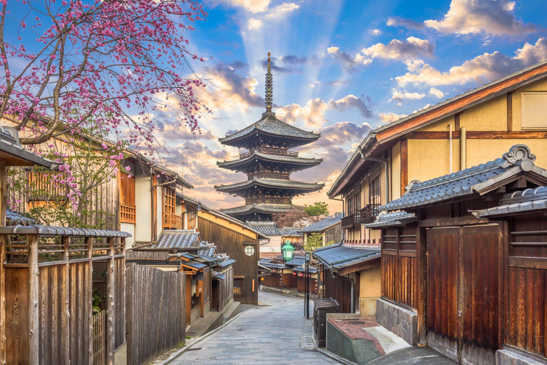 Kyoto - Explore Kyoto's traditional neighborhood, Higashiyama