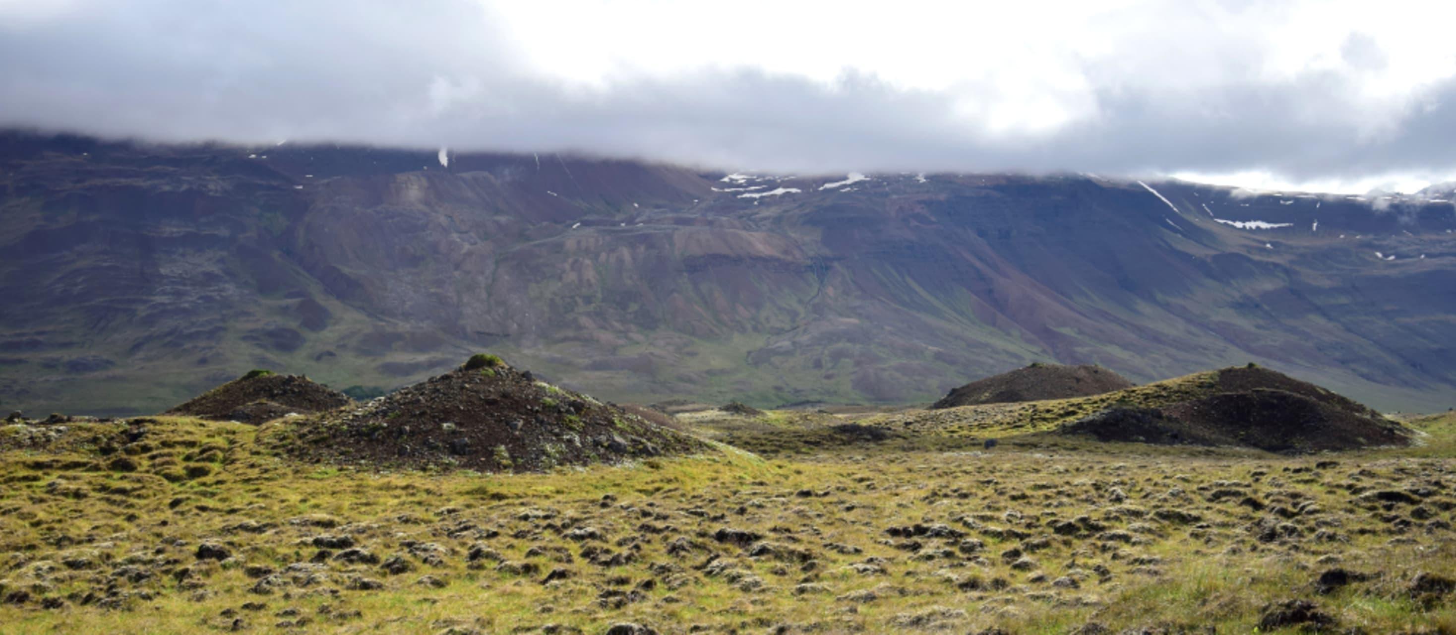 North Iceland - Vatnsdalsholar Hills, Legends and more recent discoveries