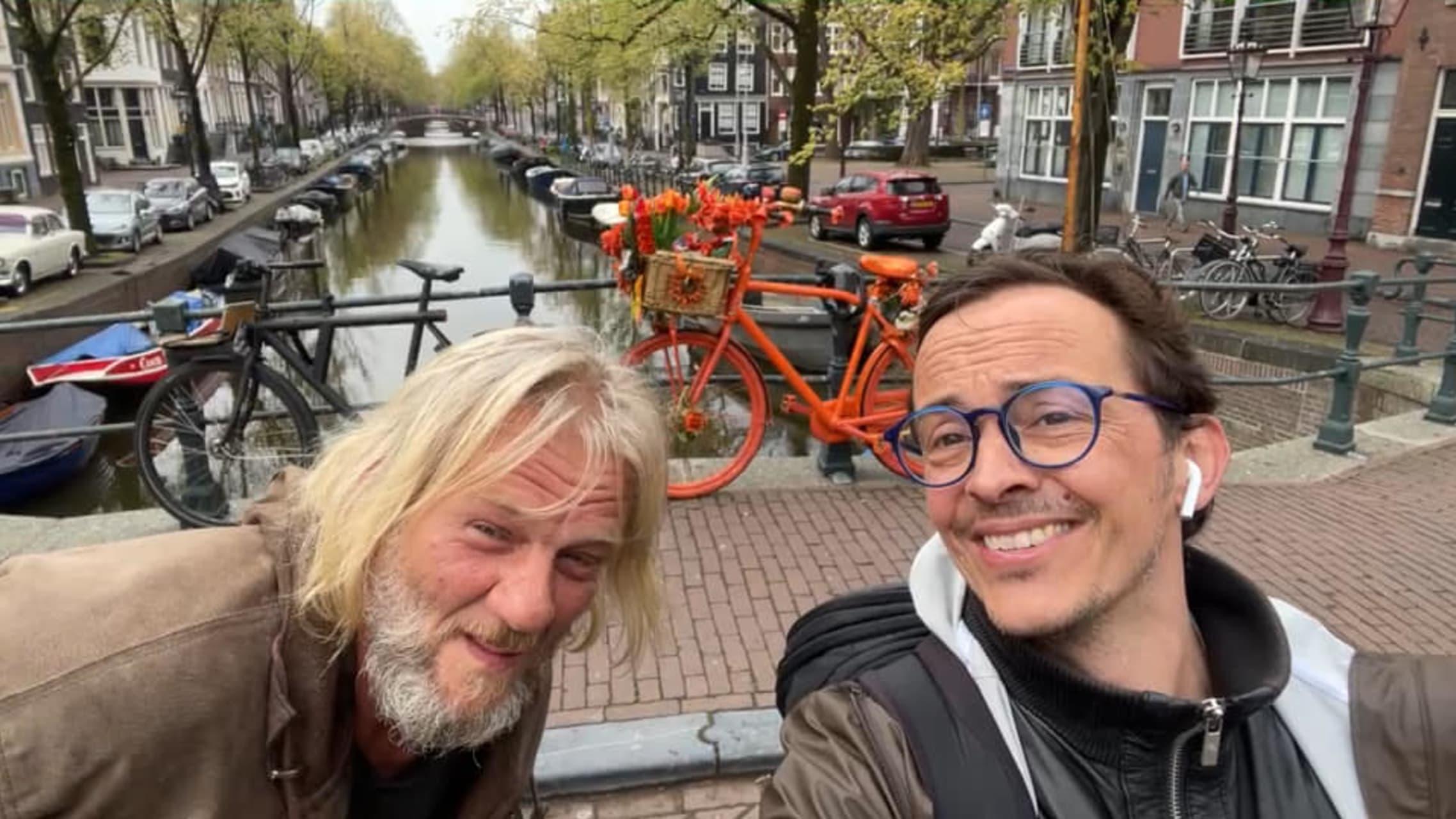 Amsterdam - Flower Power, Meet the Flower Bike Man in Amsterdam