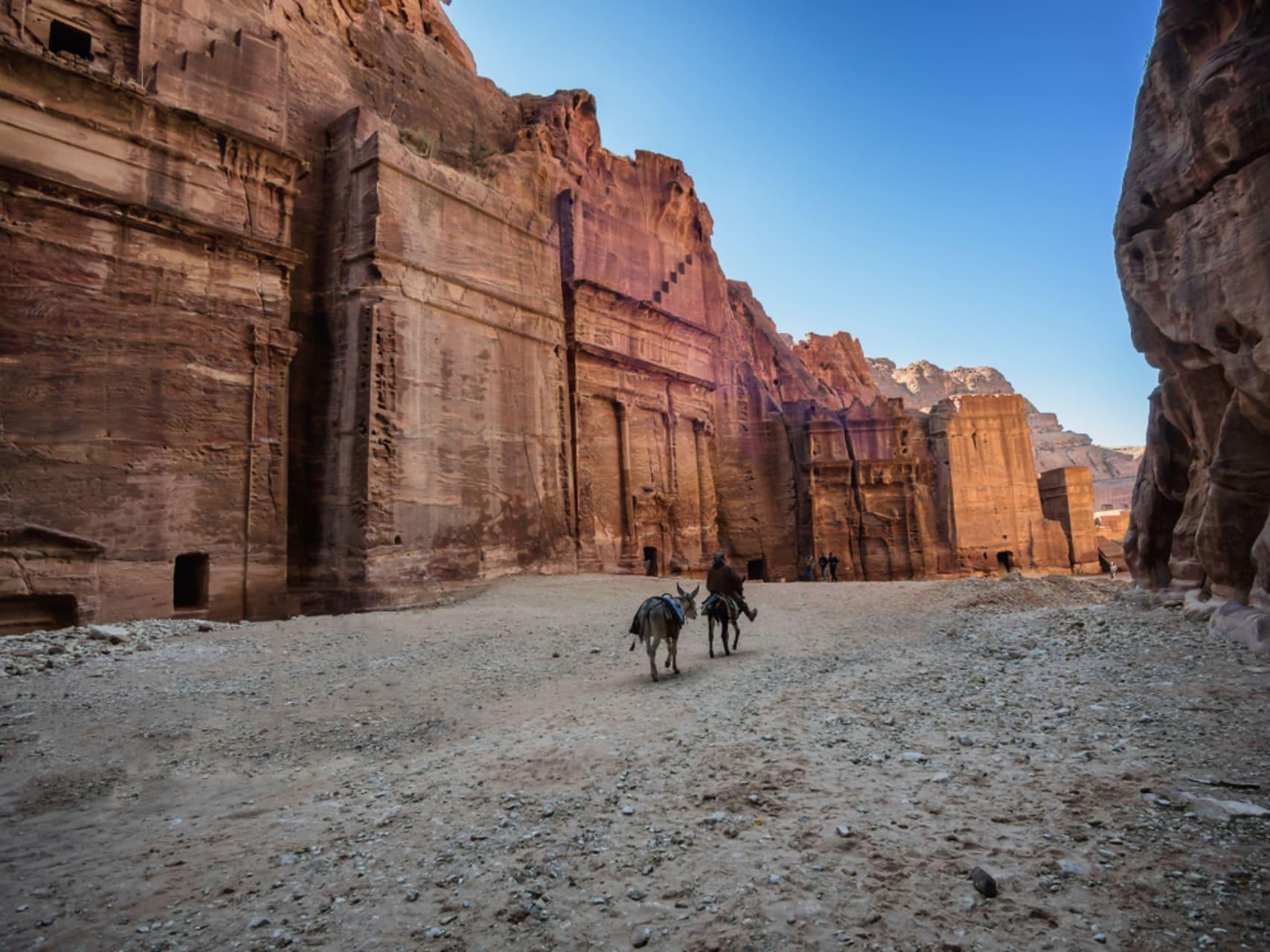 Petra - Petra, One of the 7 Wonders - Trail II