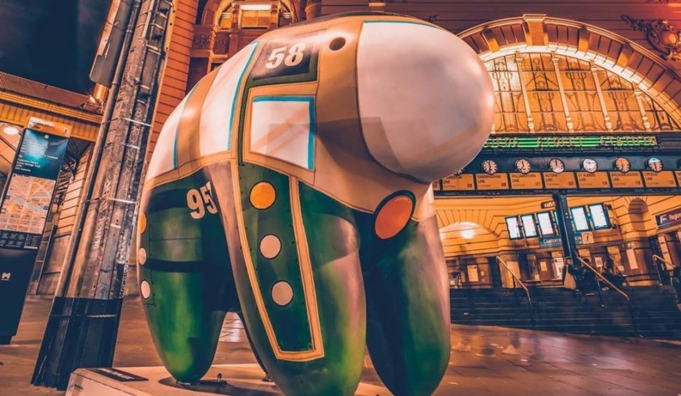 Melbourne - Art Special: Melbourne's Colourful UooUoo Trail - Part 5
