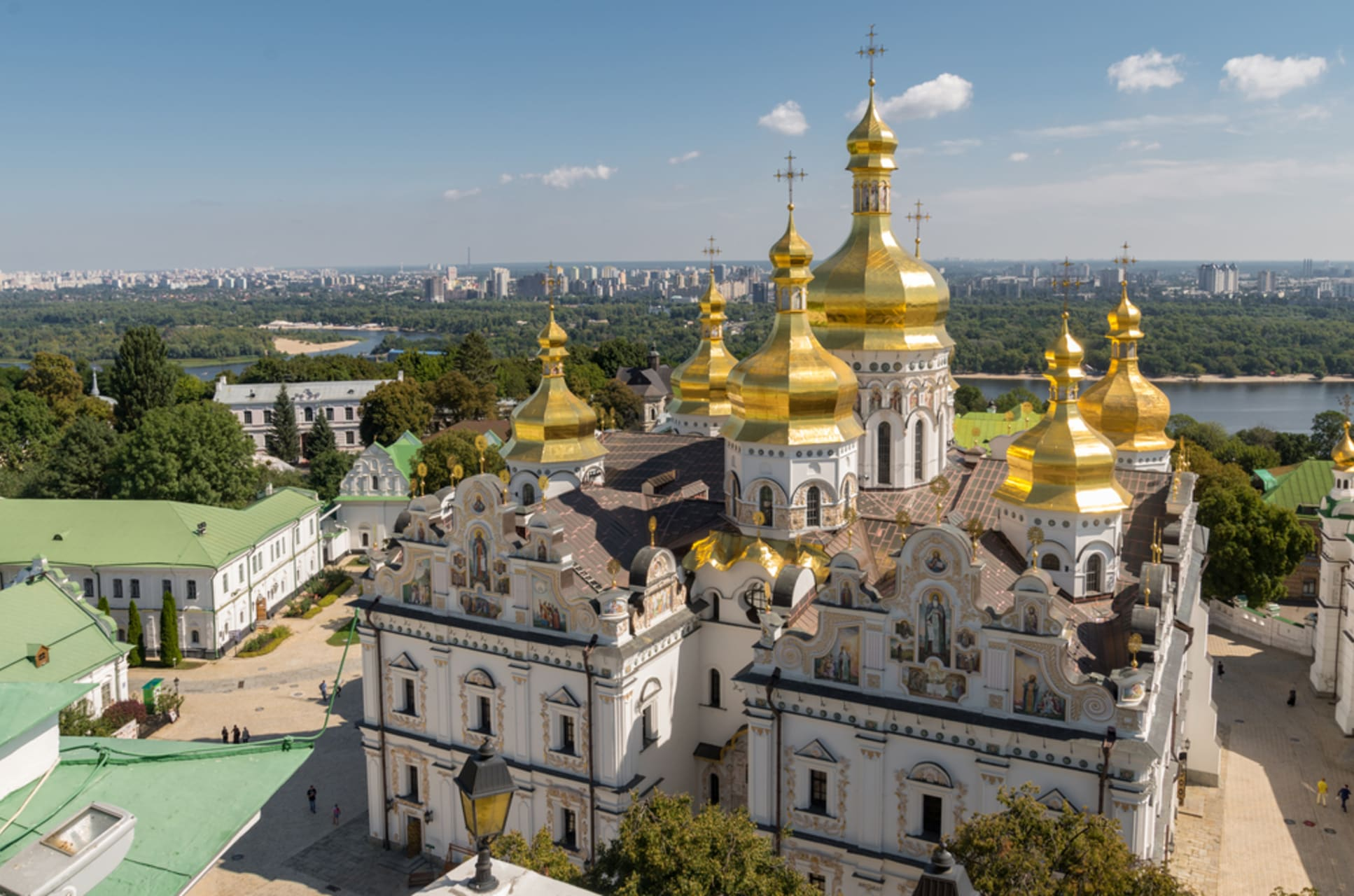 Kyiv - Kyiv Cave Monastery. The Vatican of Eastern Europe.
