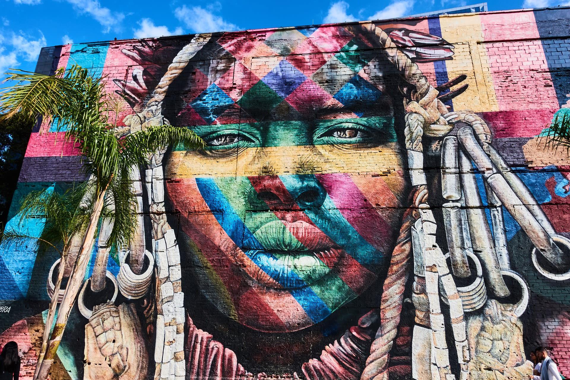 Rio de Janeiro - The Untold Story of Slavery in Rio de Janeiro Through Street art