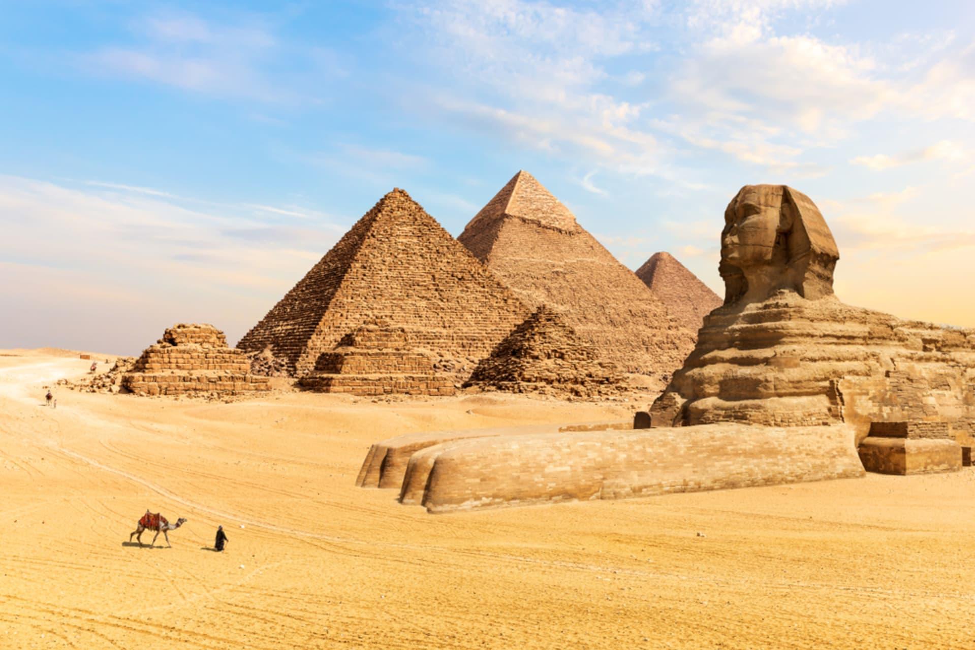 Cairo - Pyramids Of Giza