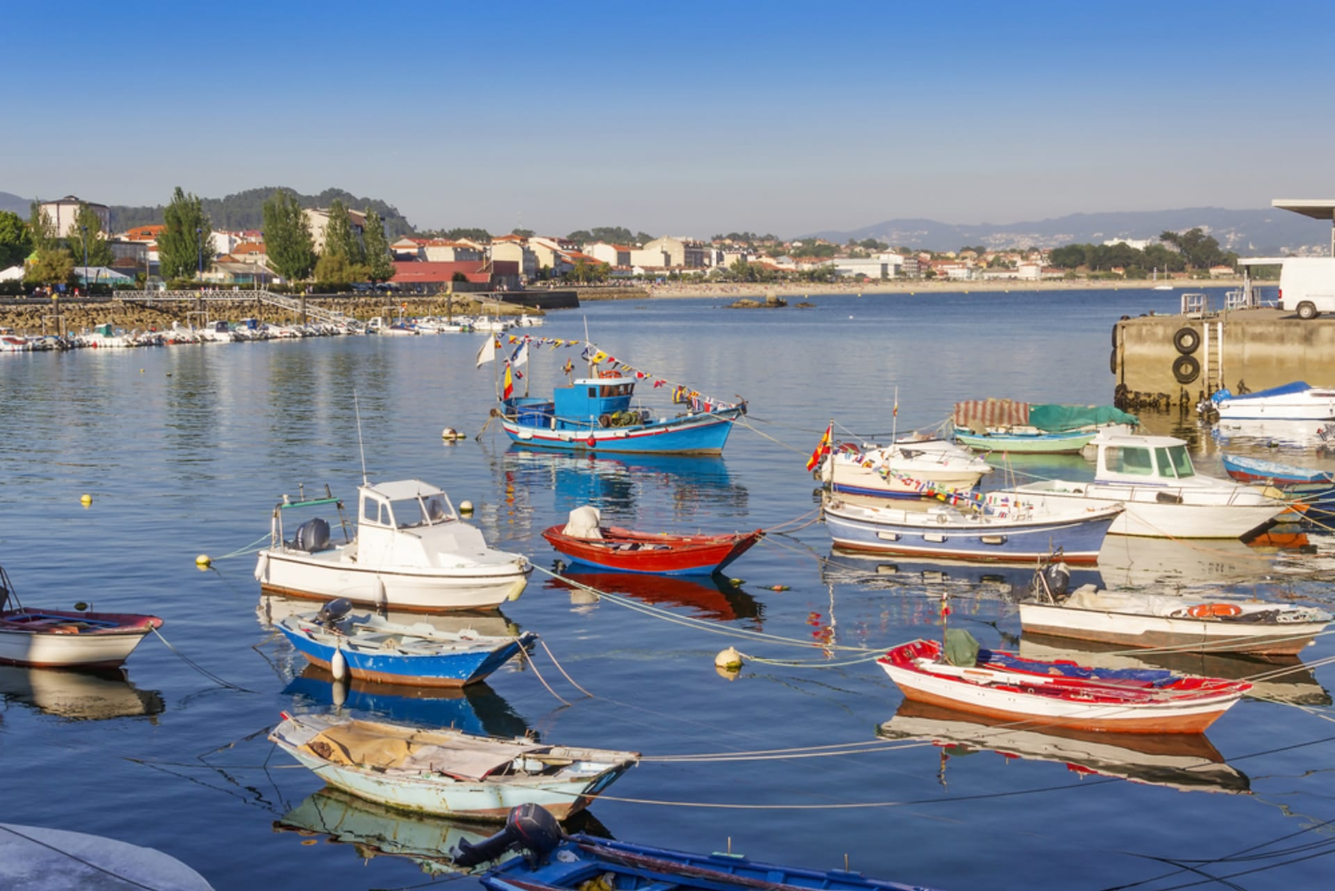 Galicia - A Walk through the Fishing village of Cangas do Morrazo