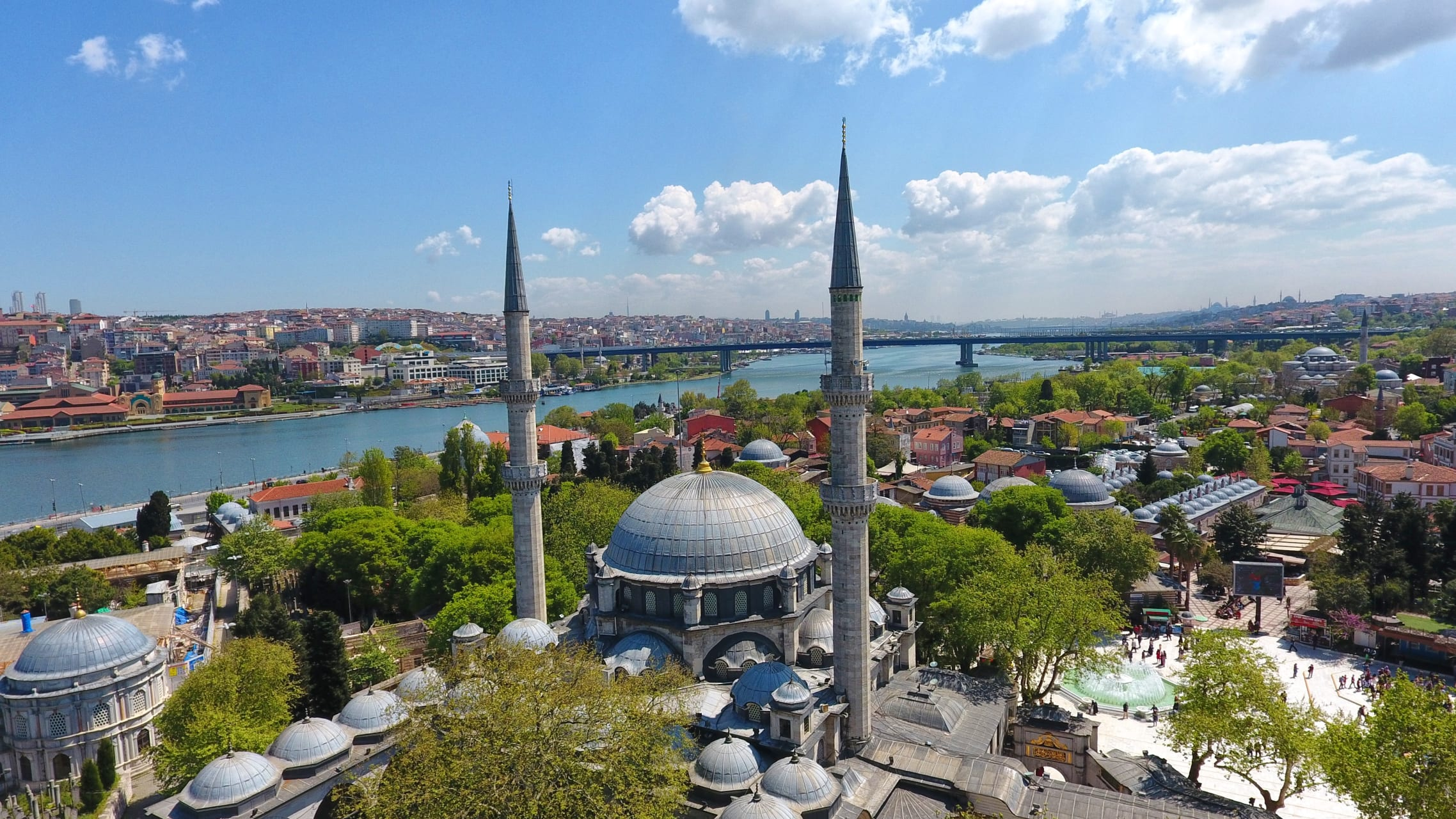 Istanbul - Pierre Loti Hill, Historical Graveyard, Eyup Mosque and Tomb