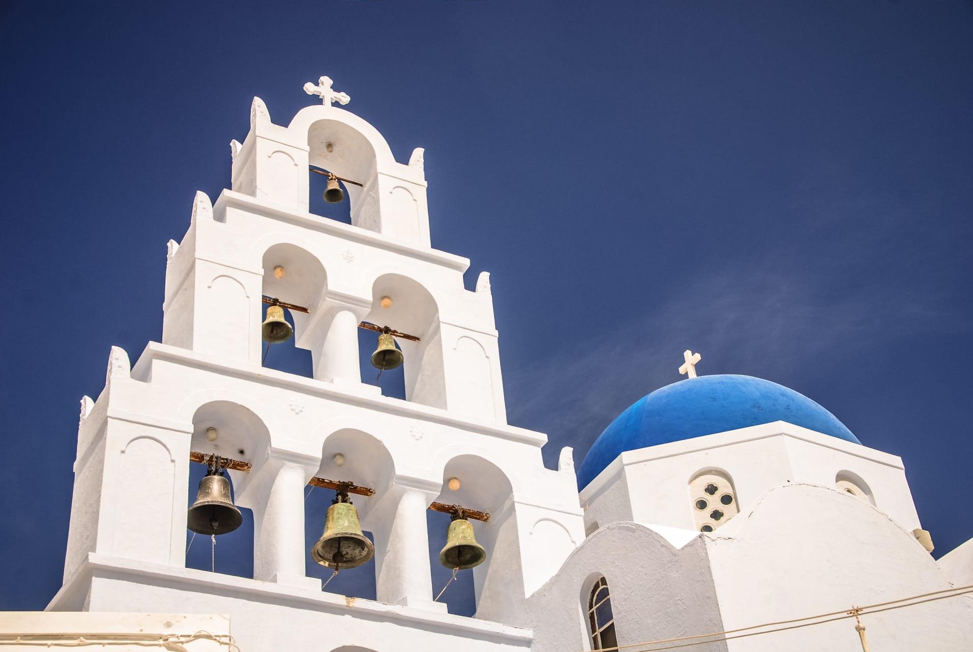 Santorini - Megalochori village: Explore the Real Life in Santorini