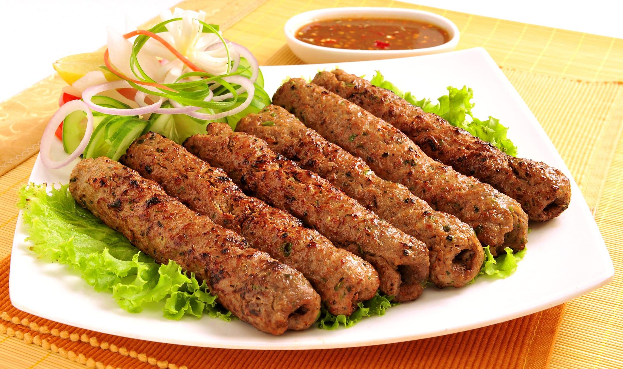 Kampala - My Kebabs + Chaps!: Kampala Cafes' Fast Meat Snacks