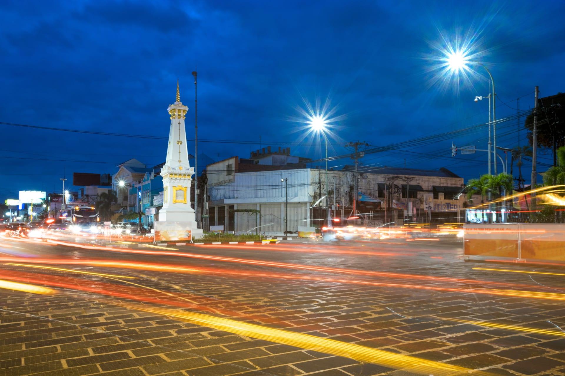 Yogyakarta - City of Yogyakarta and its Philosophical Axis, part 2