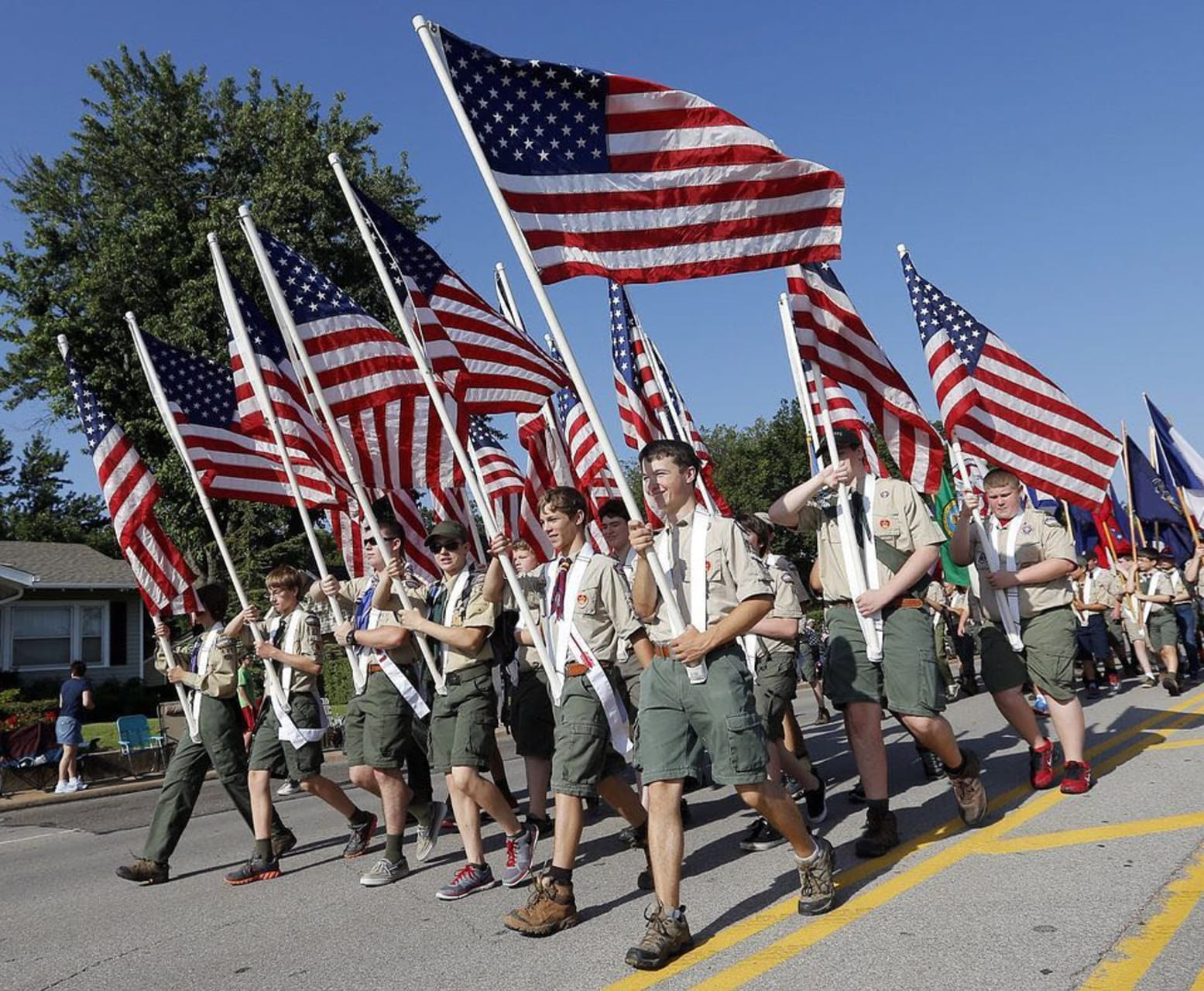 Oklahoma City - Come Join The Parade:  Celebrate American Independence At the Libertyfest Parade