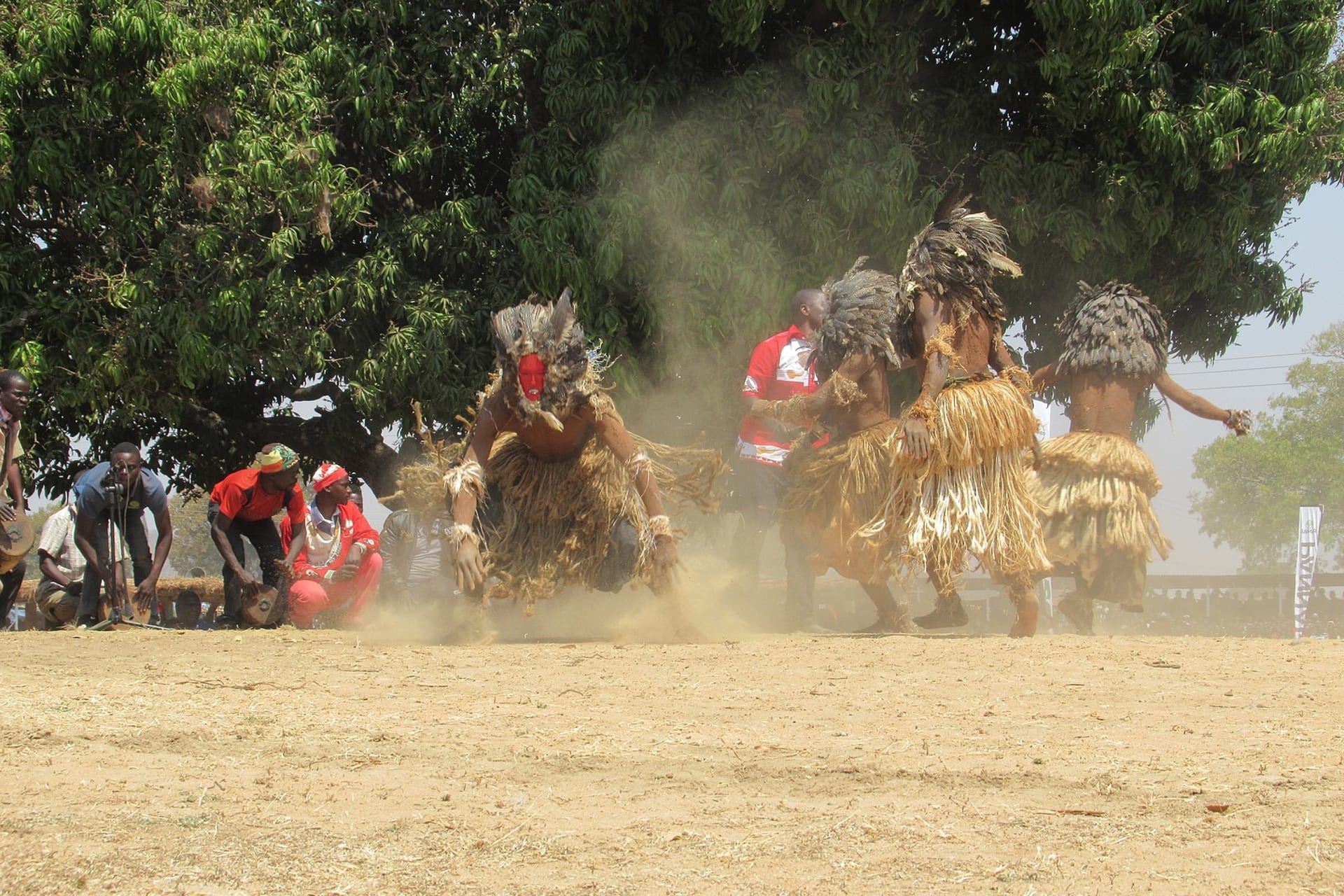 Harare - A Dance with The Mud-men (Nyau) and Mask Men (Gule) of Southern Africa