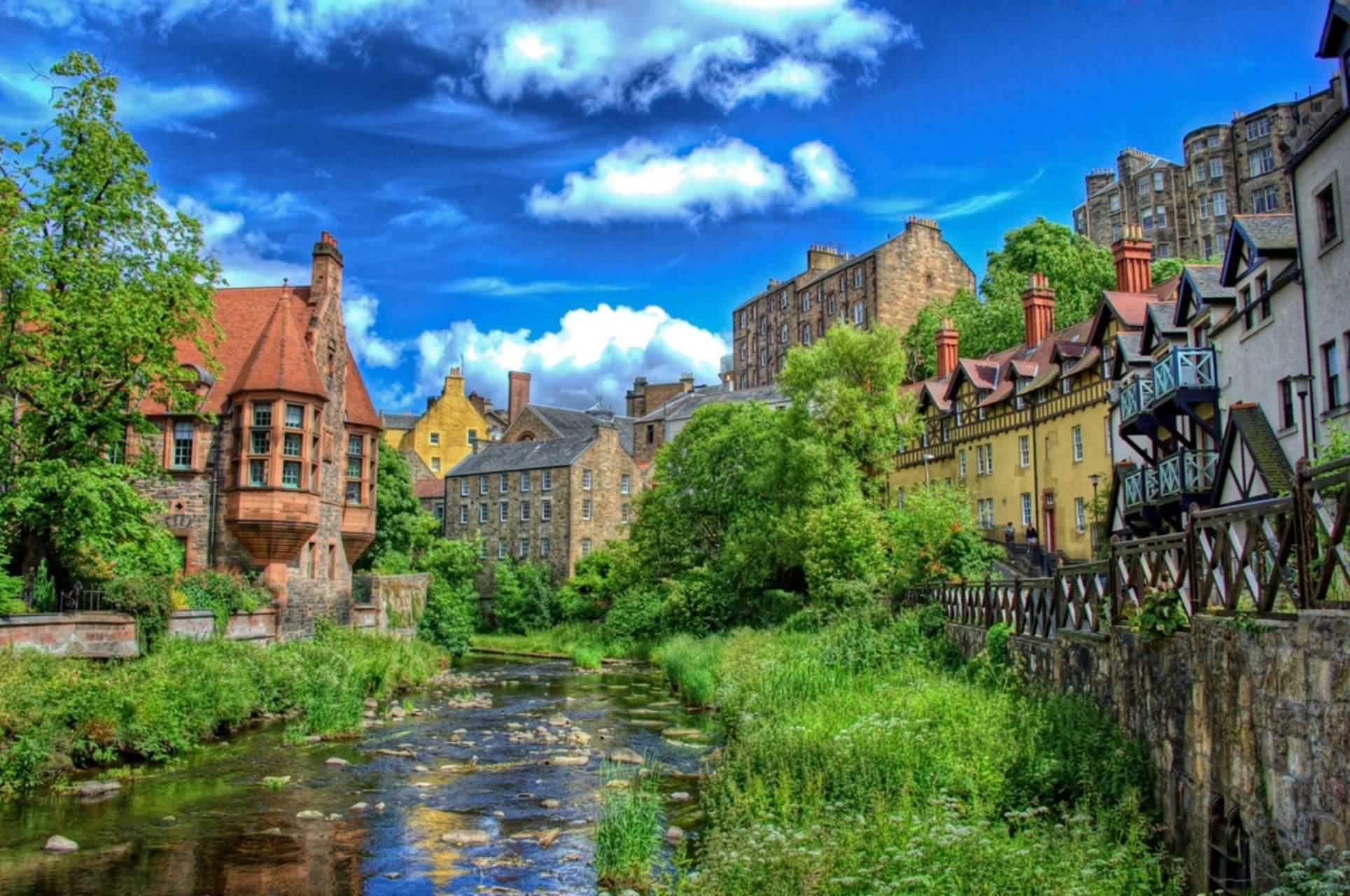 Edinburgh - Dean Village: UNESCO World Heritage Site.