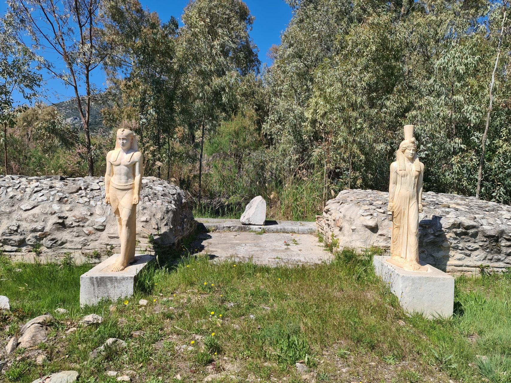 Marathon - The Roman Sanctuary of the Egyptian Gods, Right by the Sea