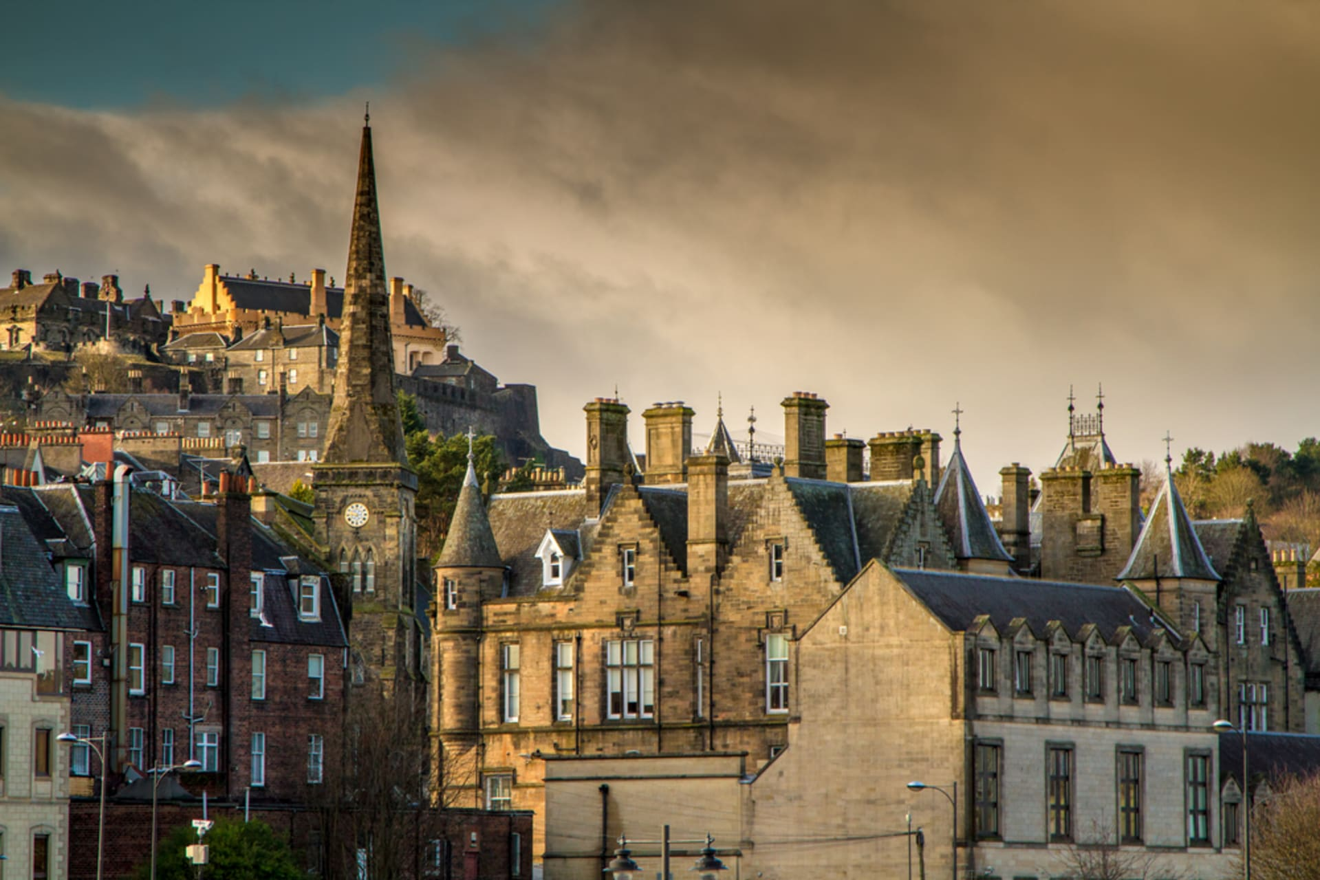 Stirling - Stirling's Old Town and Castle views