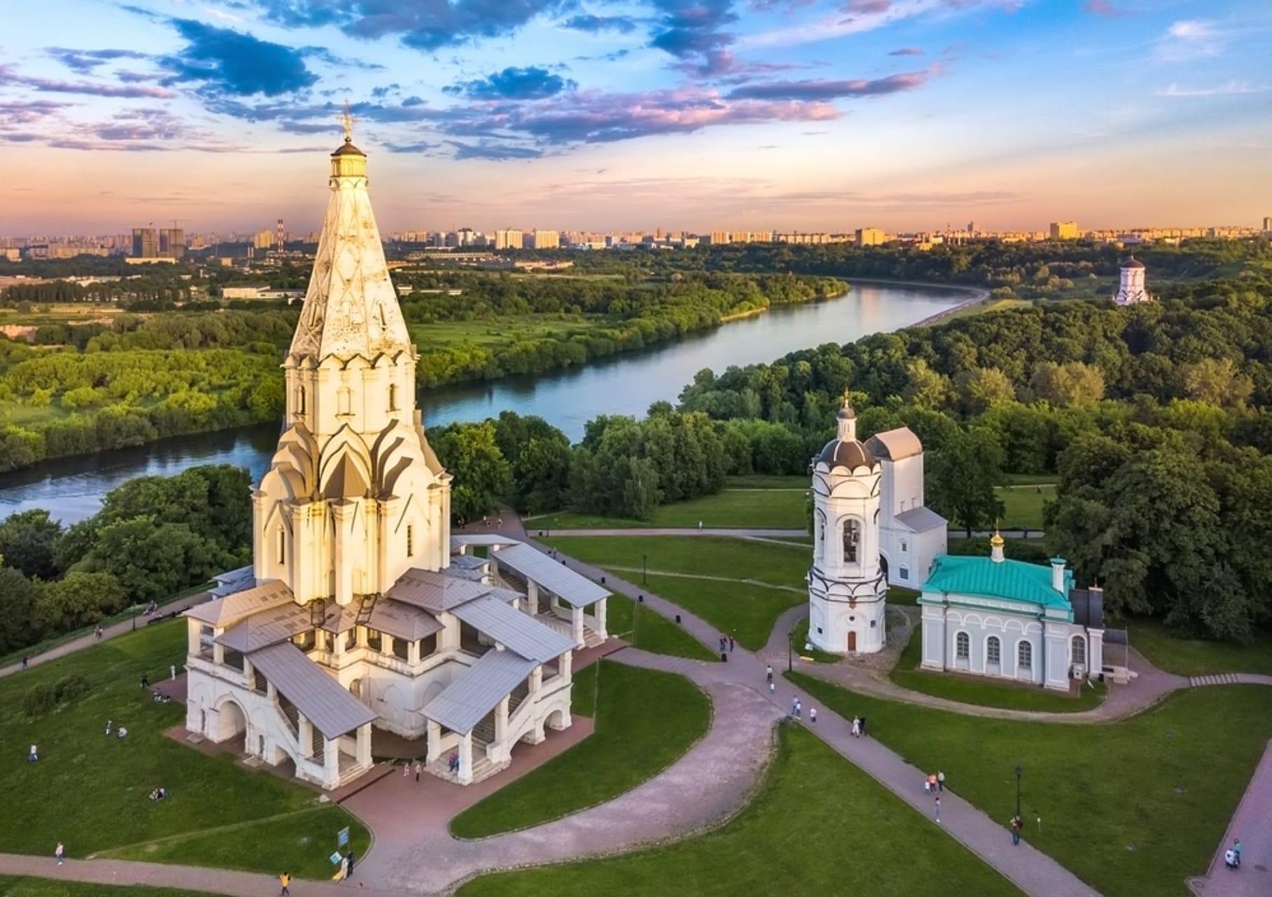 Moscow - Kolomenskoye Park: UNESCO Heritage in Moscow