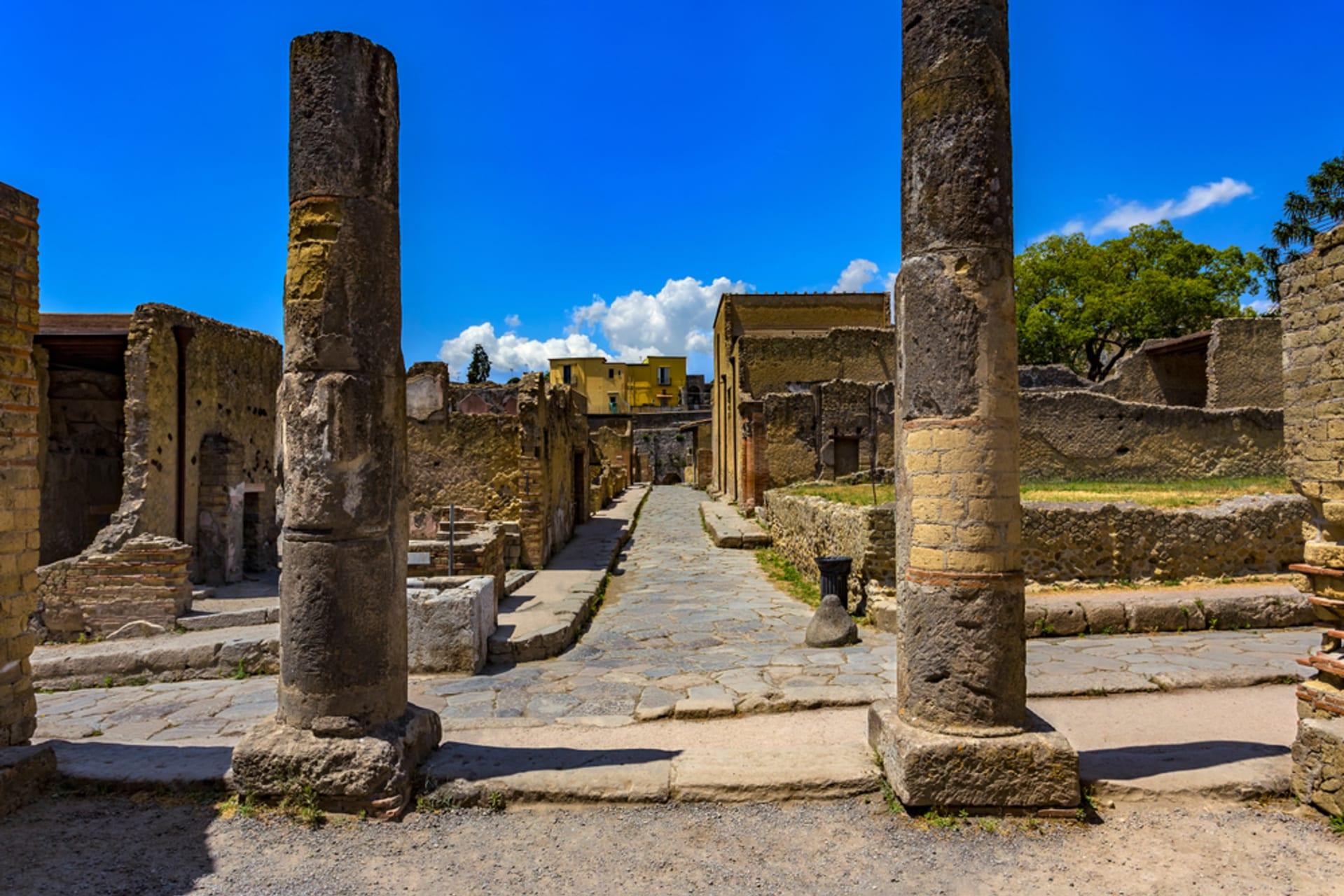 Pompeii and  Herculaneum - Herculaneum with Your Art Historian