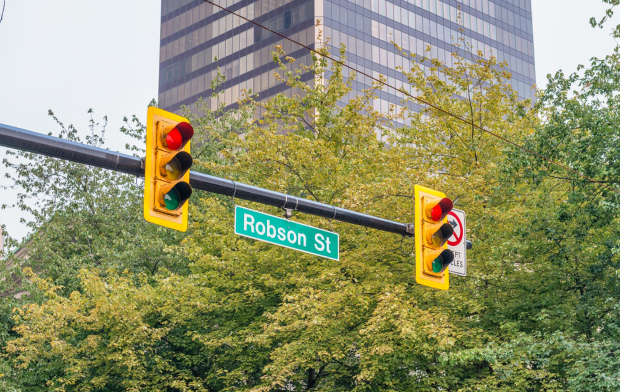 Vancouver - Central Vancouver - Robson Street & Terry Fox