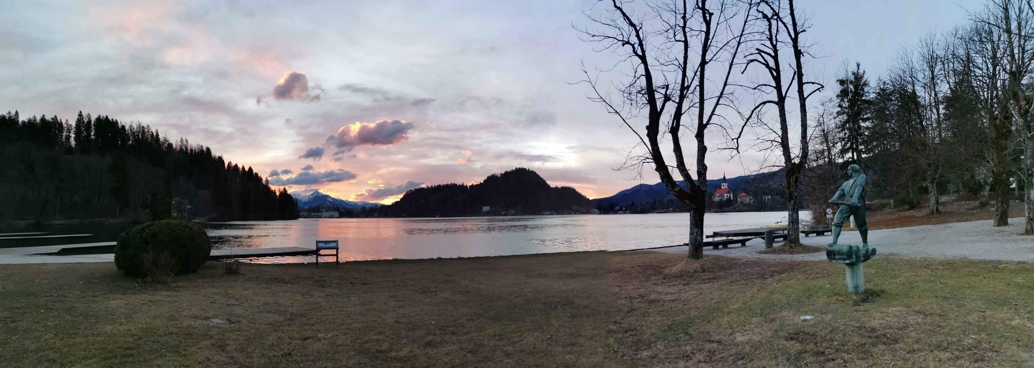 Bled - Bled sunrise