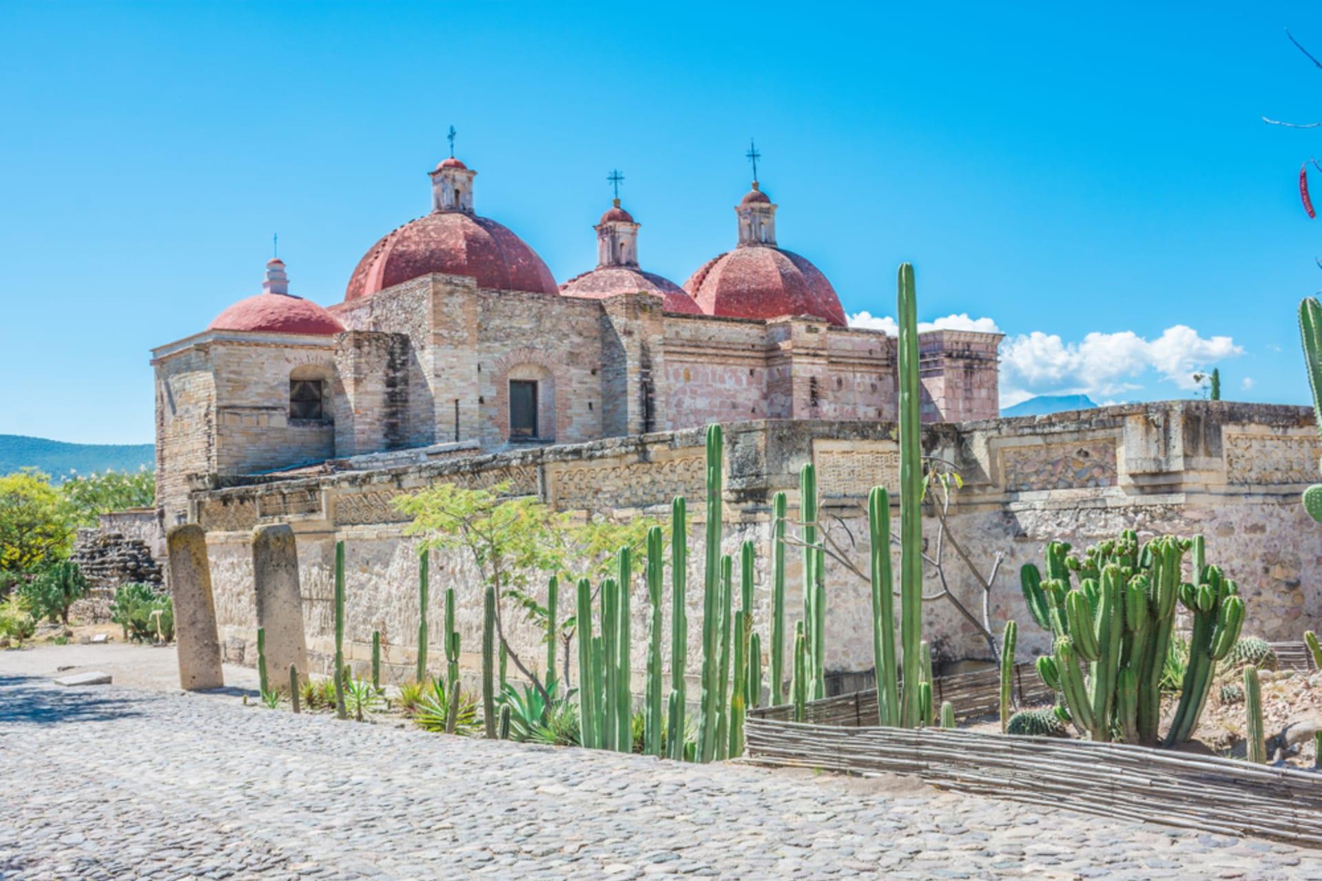 Oaxaca - MItla- 750 AD Zapotec City