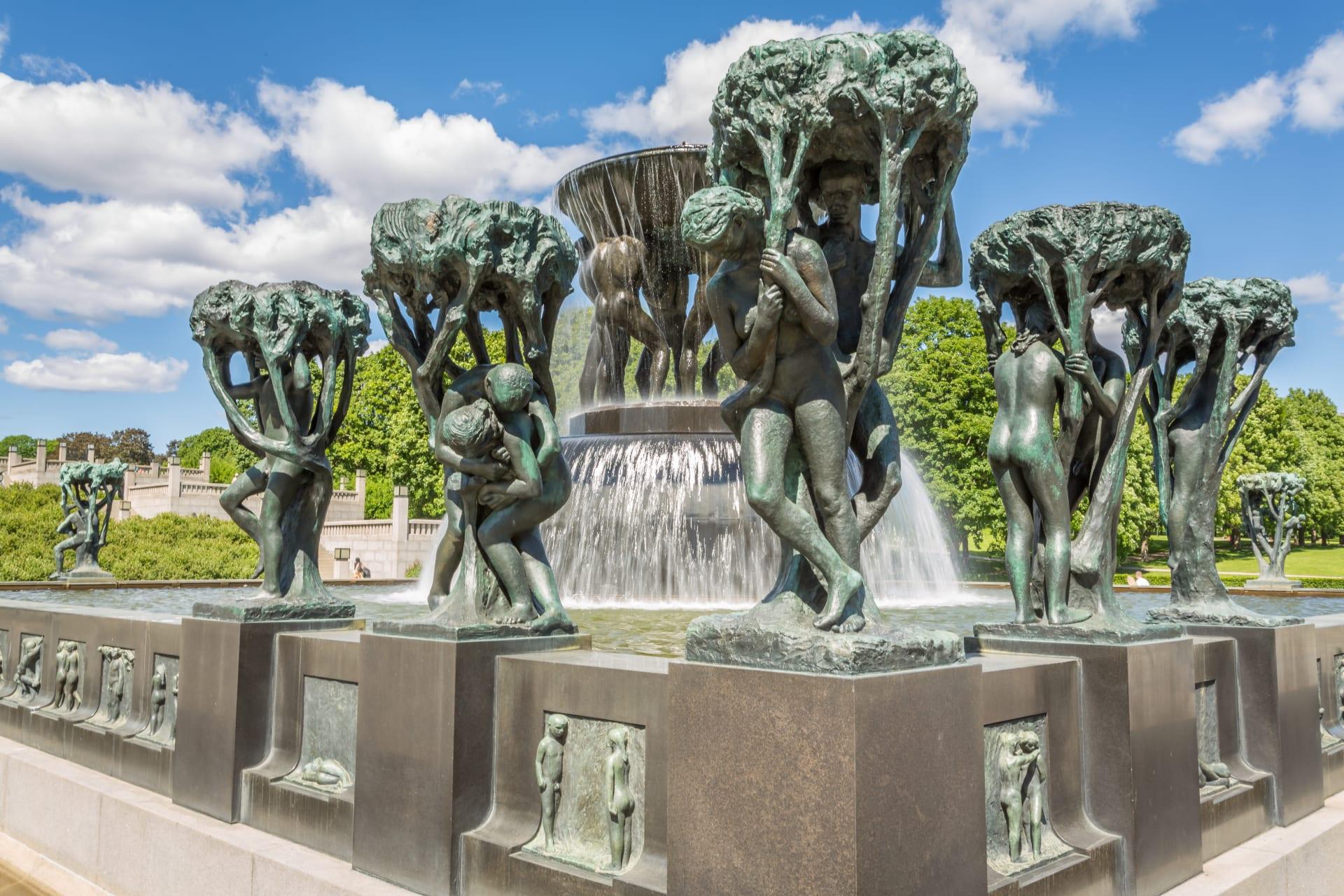 Oslo - Norwegian Cultural Heritage: Vigeland Sculpture Park, Part II
