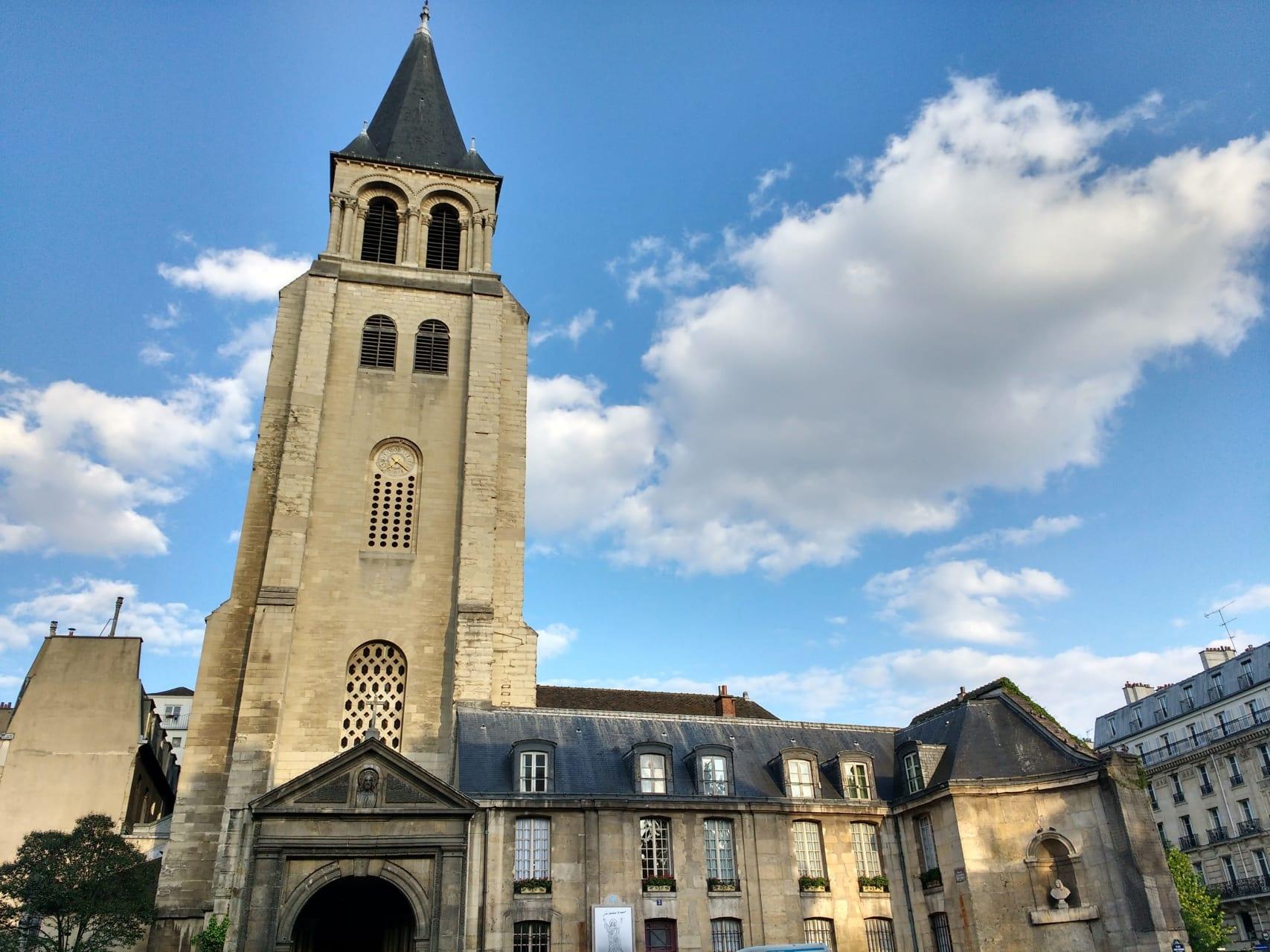 Paris - 10 Most Incredible Churches in Paris:  N°2 Saint Germain des Prés