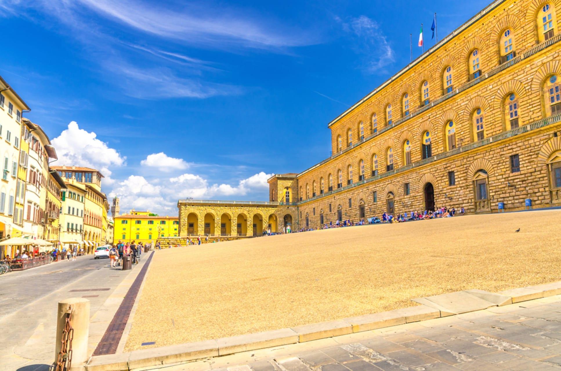 Florence - Pitti Palace and the origin of modern Italian fashion