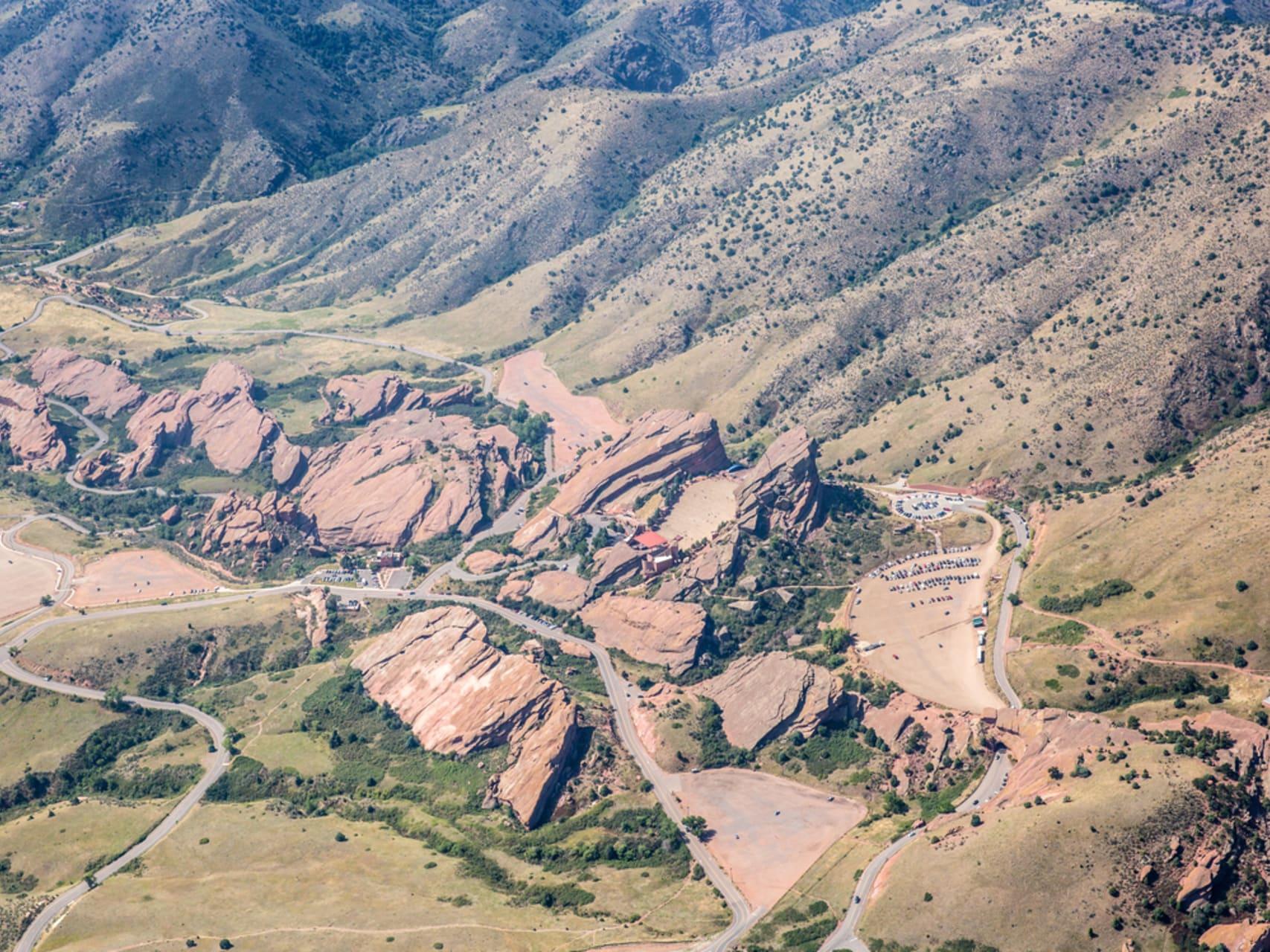 Denver - Denver's Ancient Amphitheater: Red Rocks