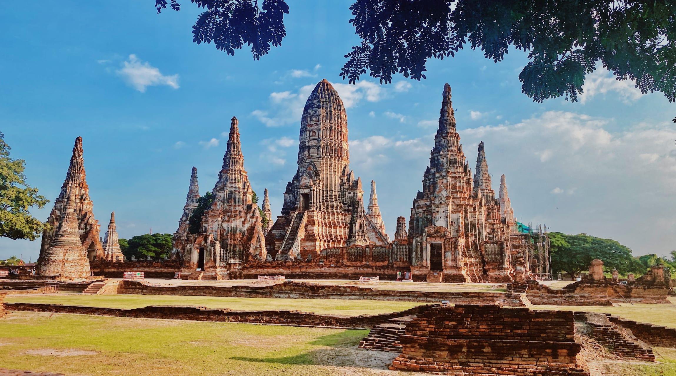 Ayutthaya - Wat Chaiwatthanaram in Ayutthaya
