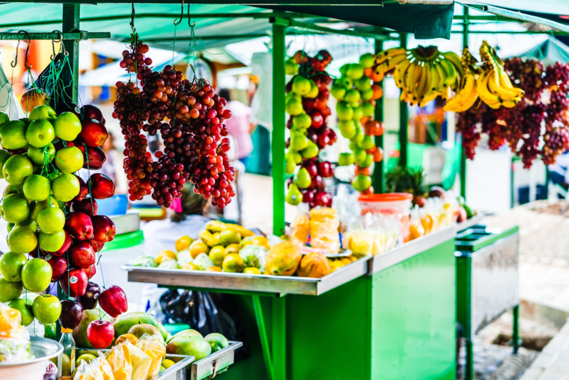 Bogota - Flowers, Fruits and Herbs: Paloquemao Market in Colombia