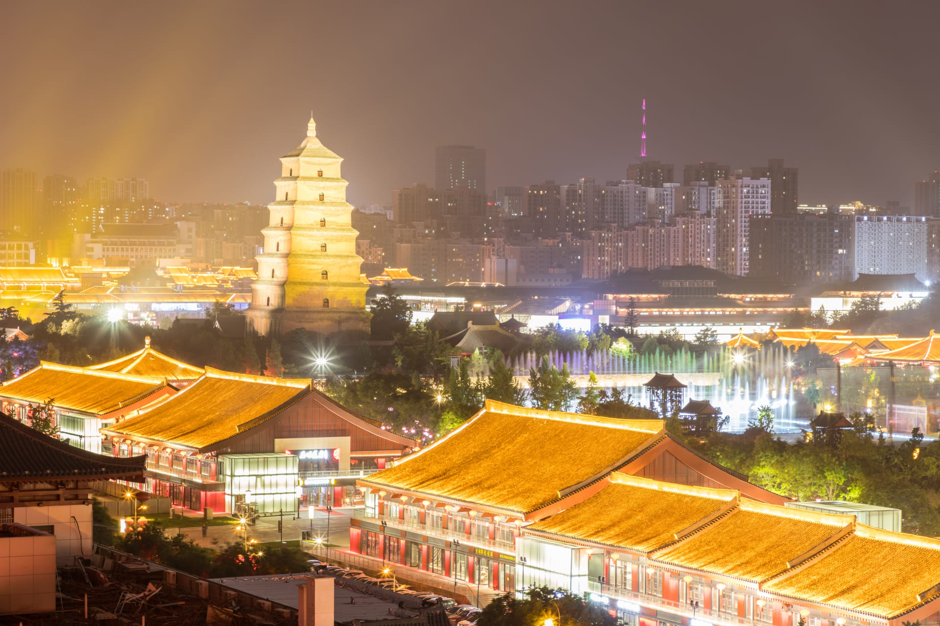 Xi'an - Xi'an Nights at Datang Sleepless City: Go Back In Time to Tang Dynasty