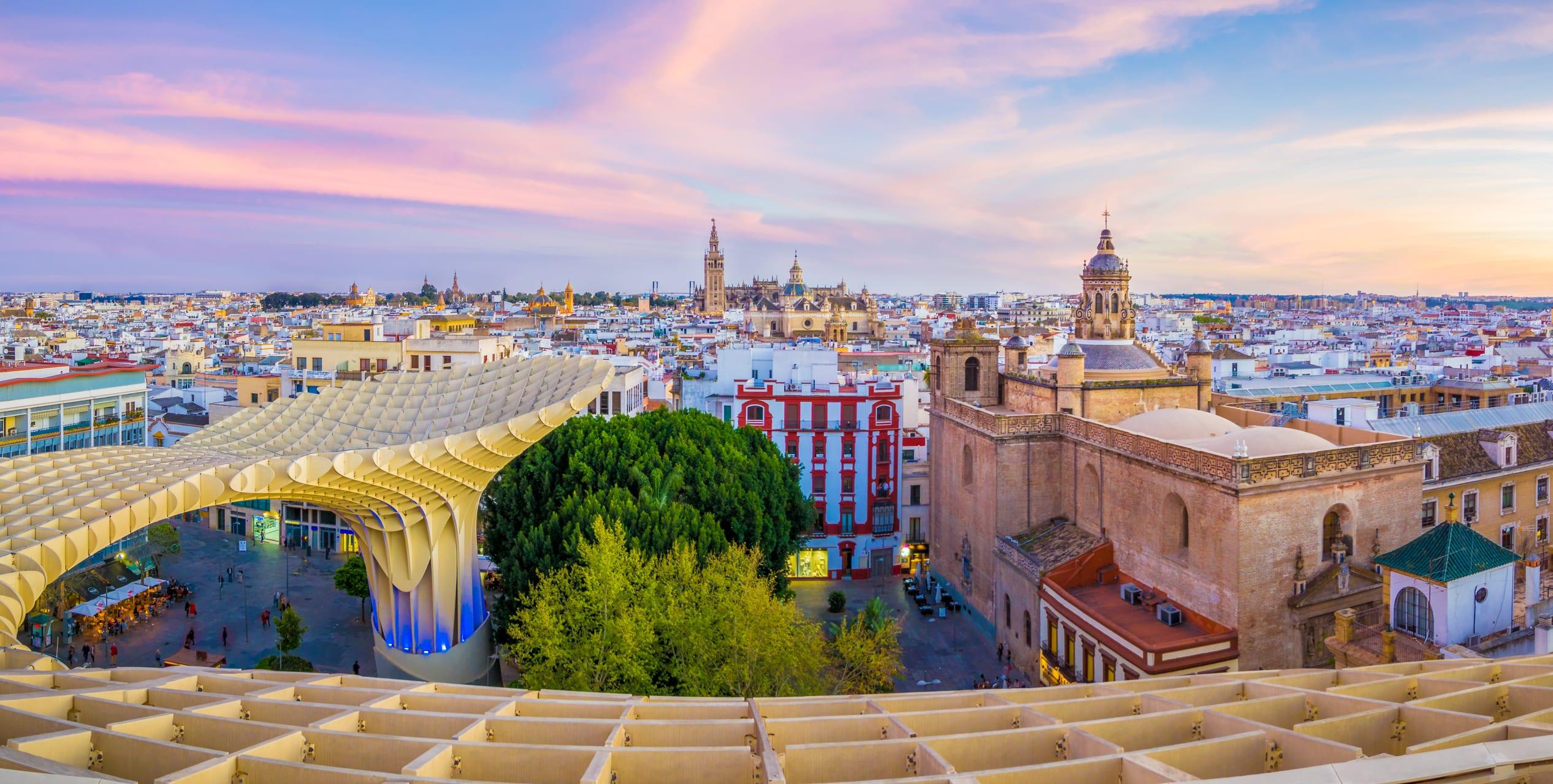 Seville - The Mushrooms: Seville's Trippiest Monument
