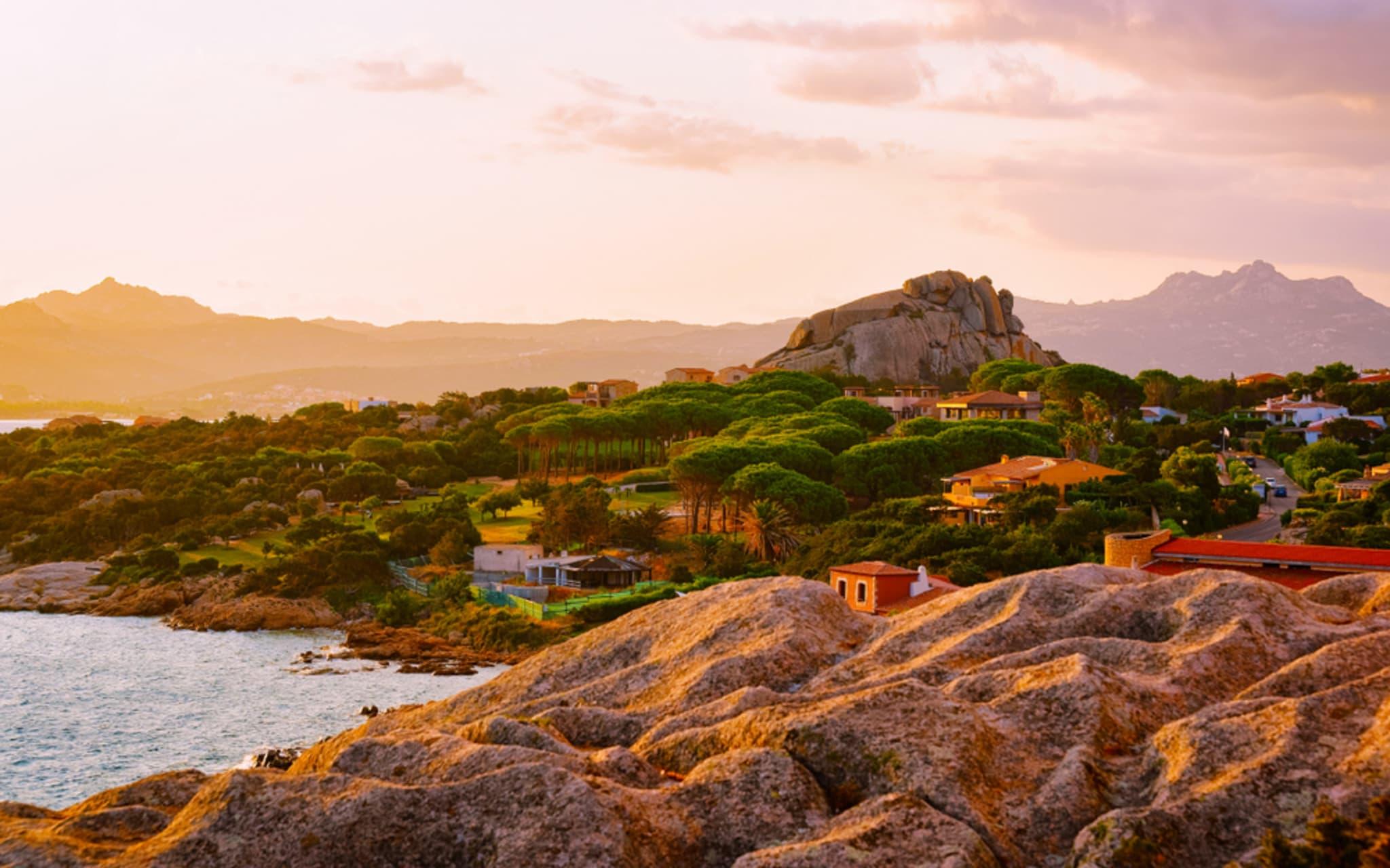 Sardinia - Sunset on the Green Coast