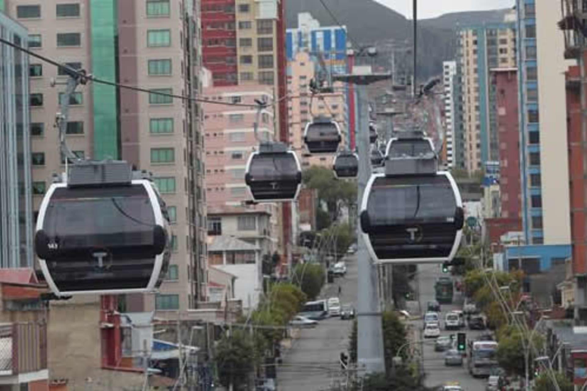 La Paz - White Cable Car Line