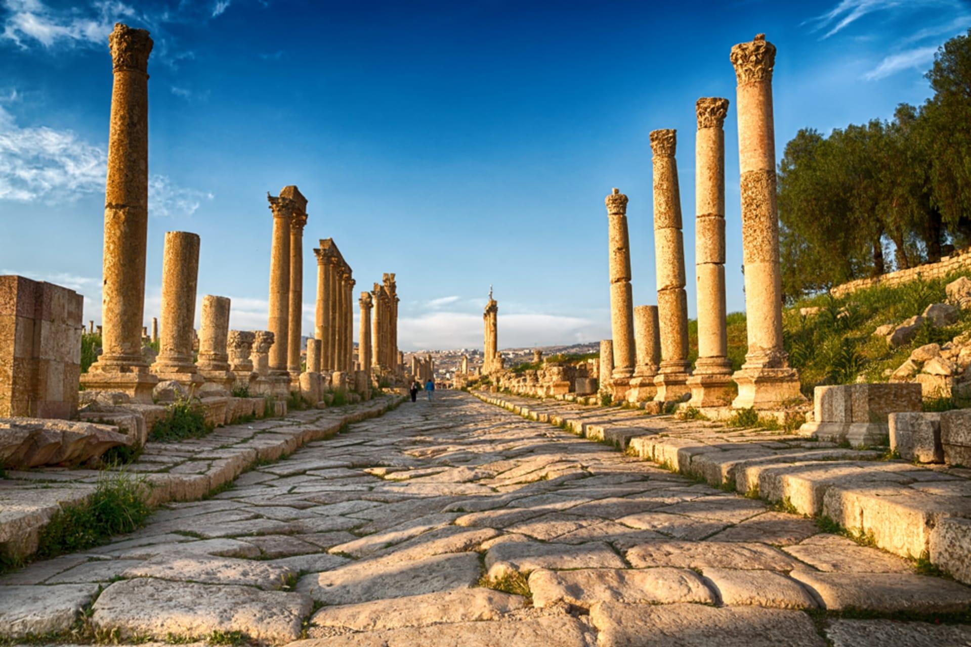 Amman - Jerash ancient city