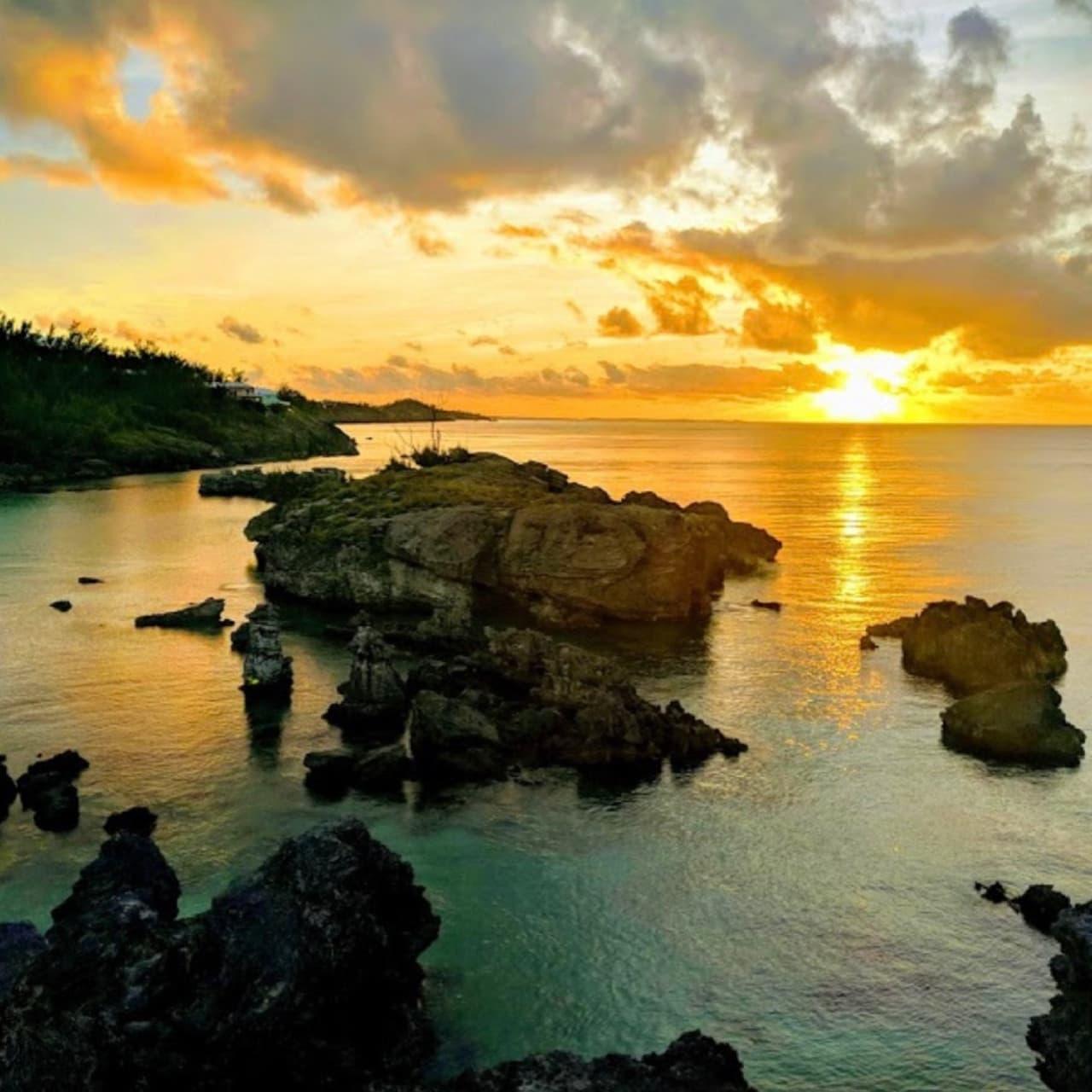 Bermuda - Sunset In Bermuda