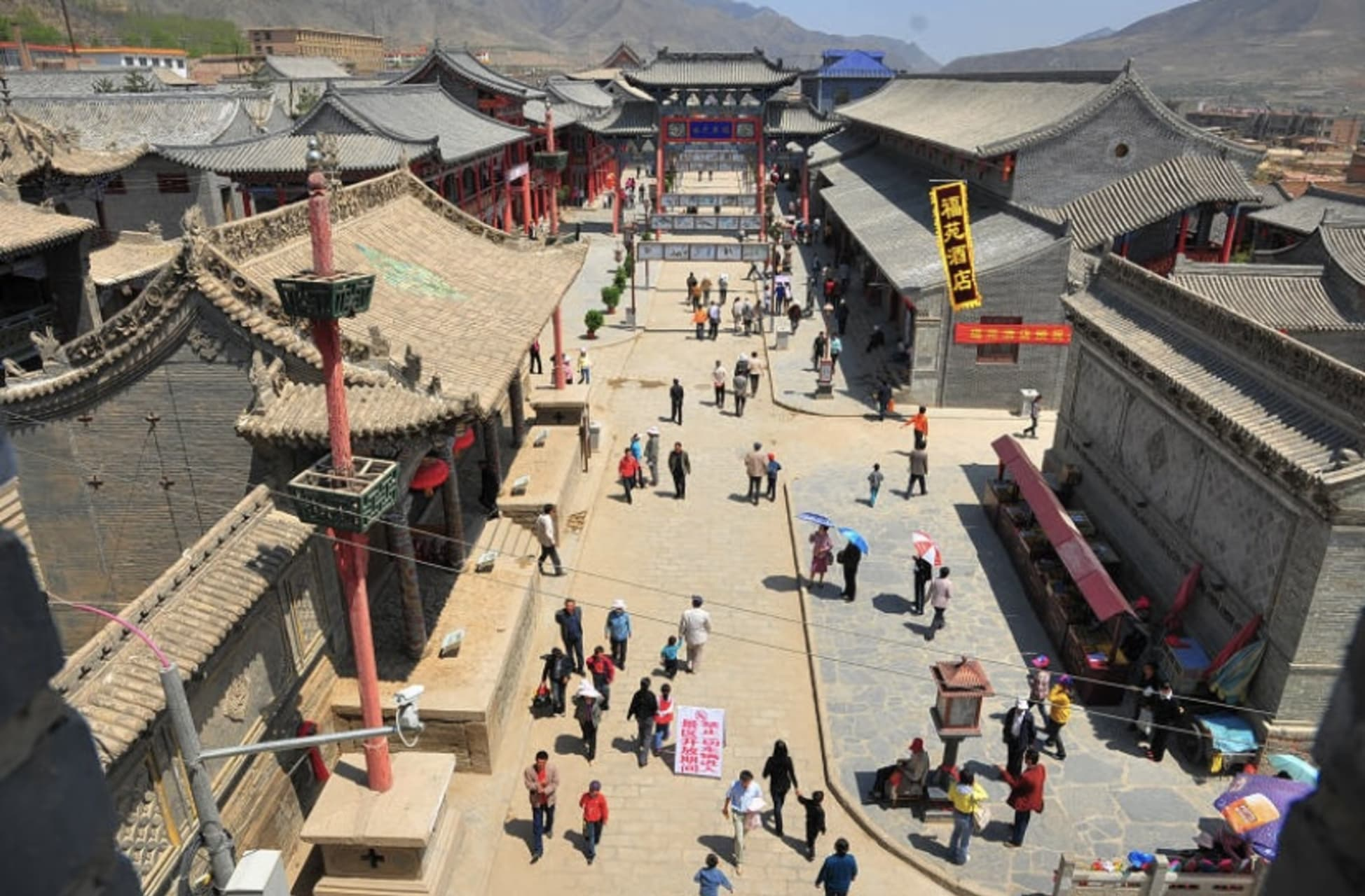Hexi Corridor (China's Silk Road) - Huangyuan Danga'er: Ancient Silk Road Trading City